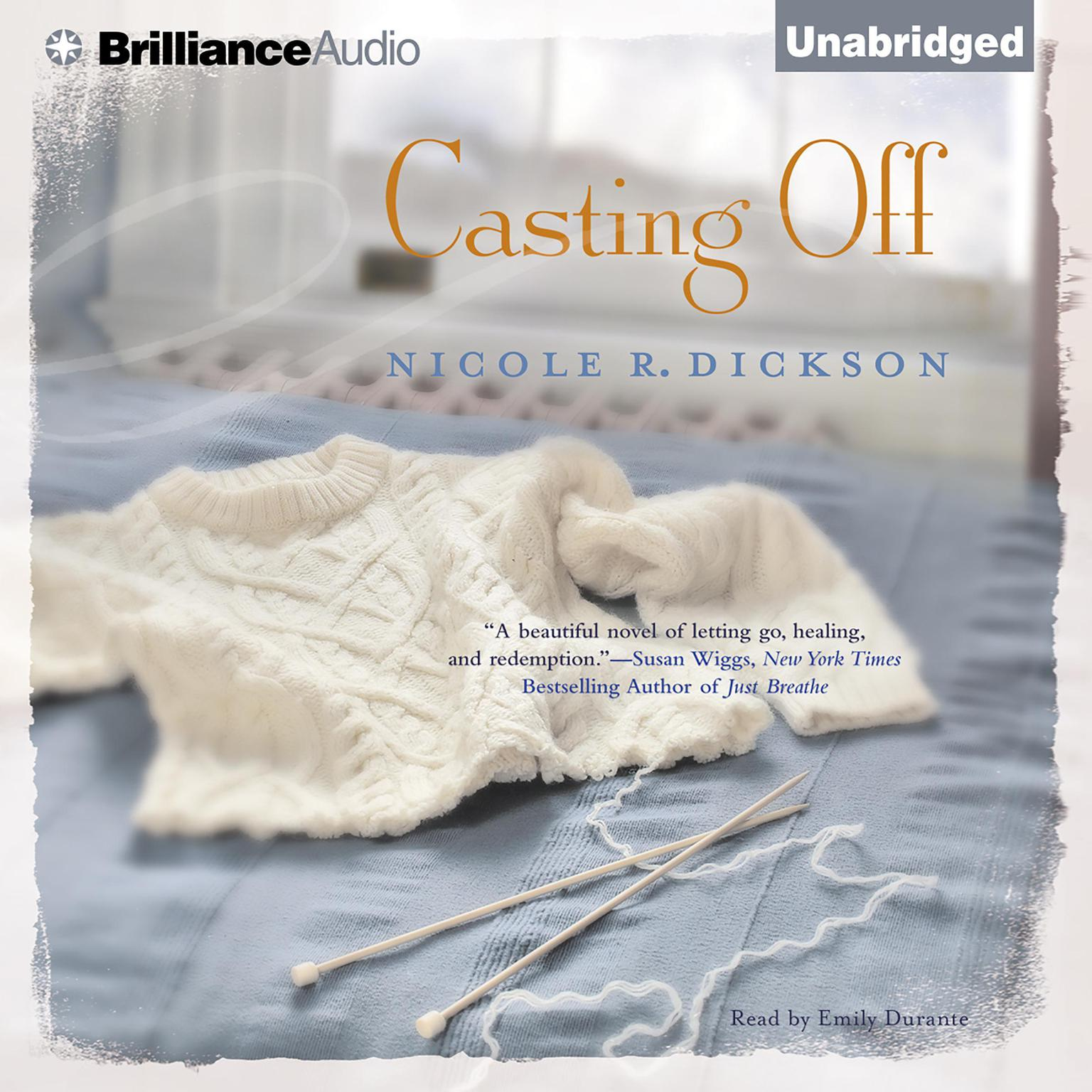 Printable Casting Off Audiobook Cover Art
