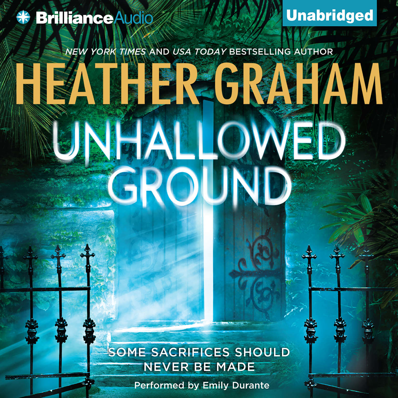 Printable Unhallowed Ground Audiobook Cover Art