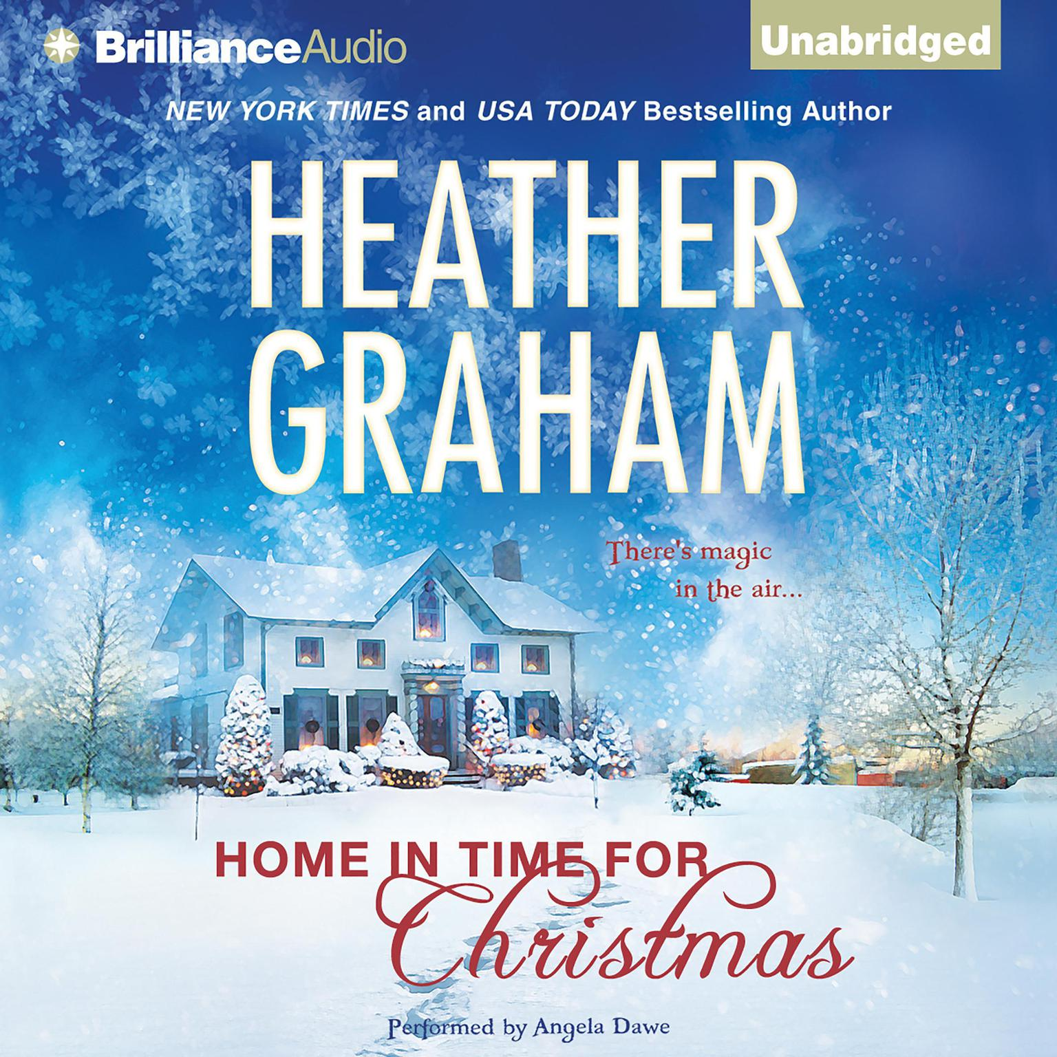 Printable Home in Time for Christmas Audiobook Cover Art