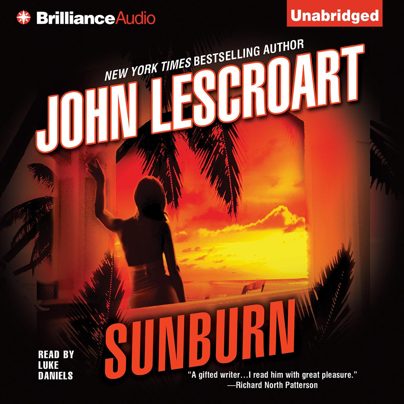 Printable Sunburn Audiobook Cover Art