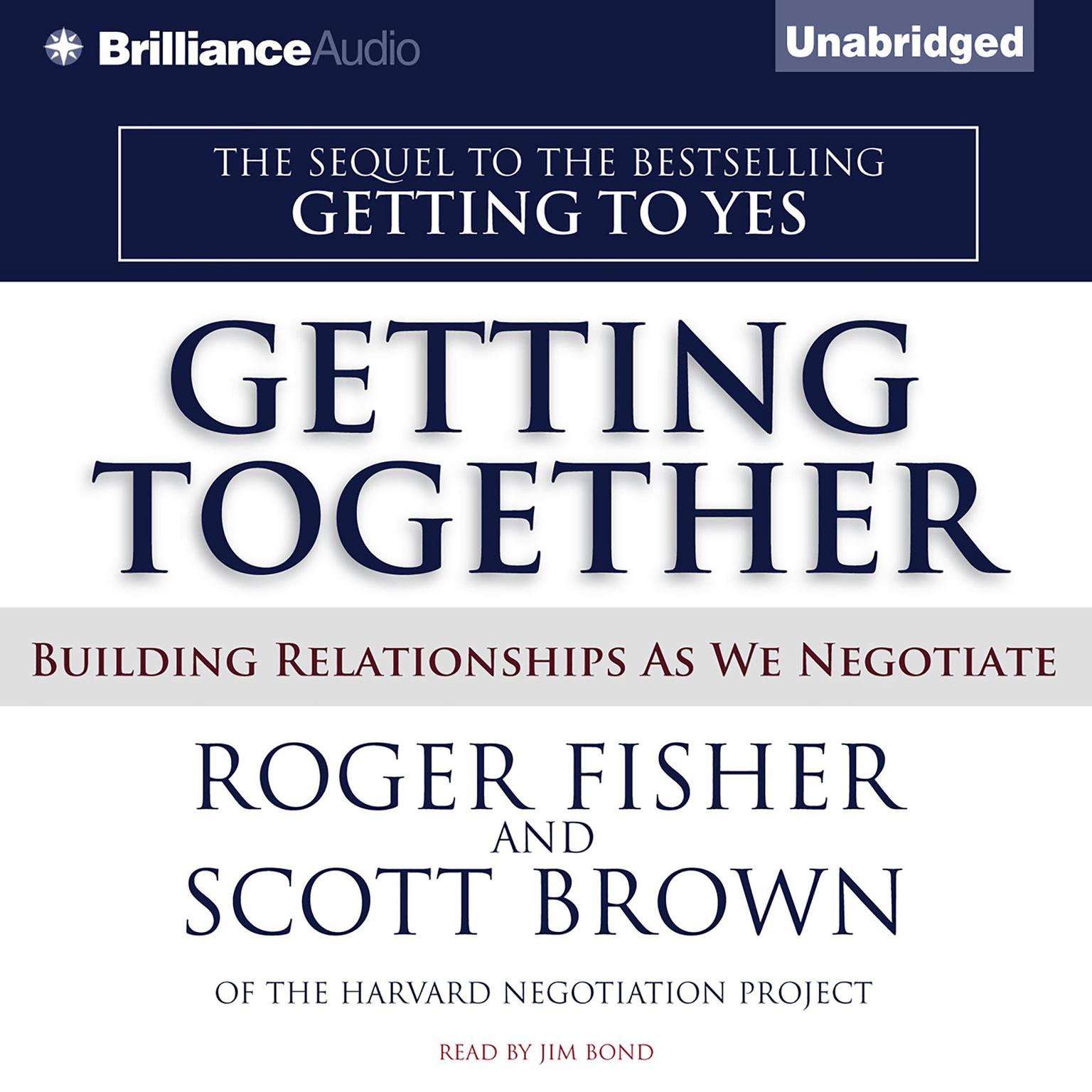 Printable Getting Together: Building Relationships As We Negotiate Audiobook Cover Art
