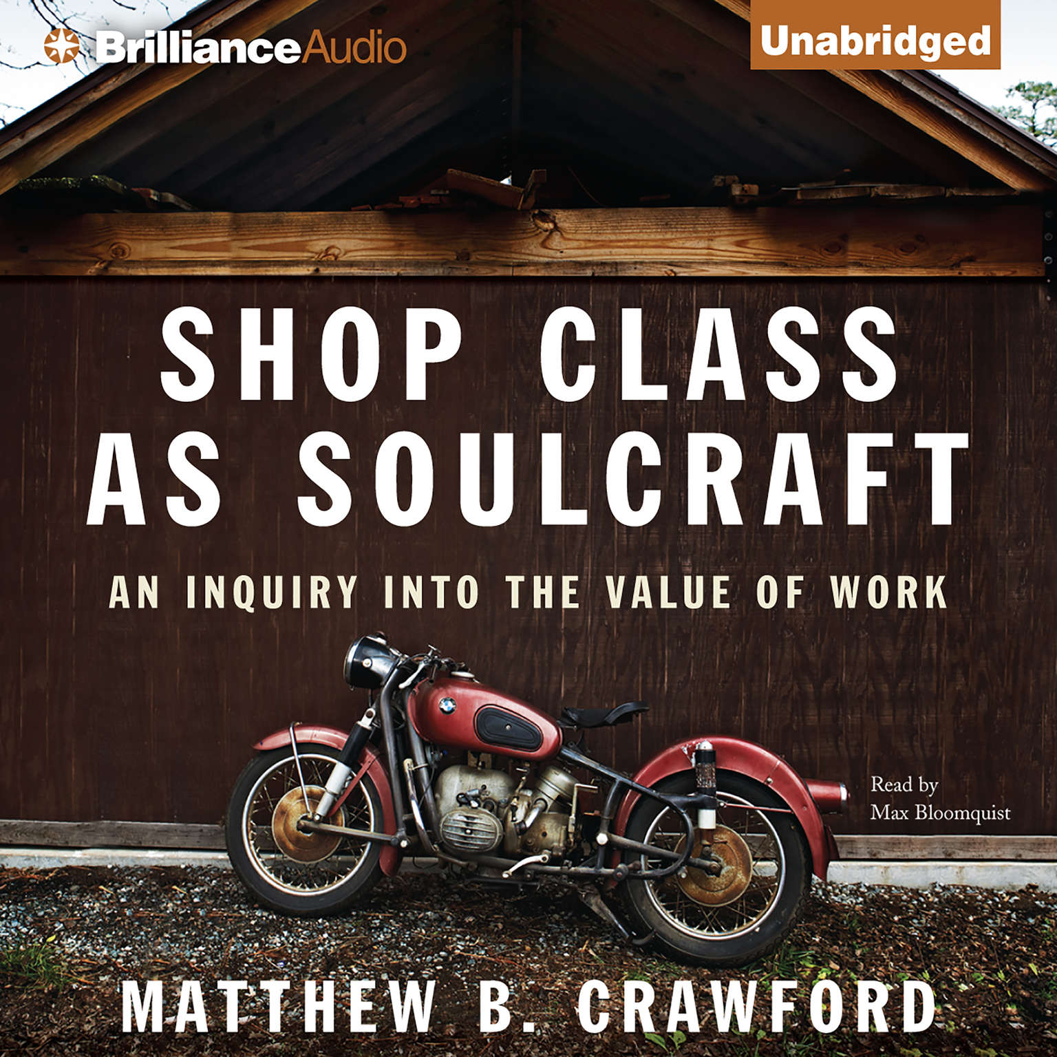 Printable Shop Class as Soulcraft: An Inquiry into the Value of Work Audiobook Cover Art