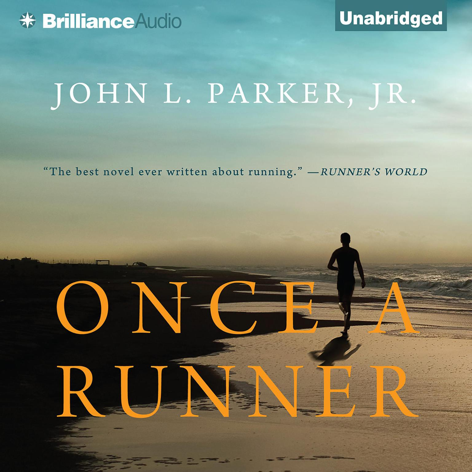Printable Once a Runner Audiobook Cover Art