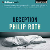 Deception Audiobook, by Philip Roth