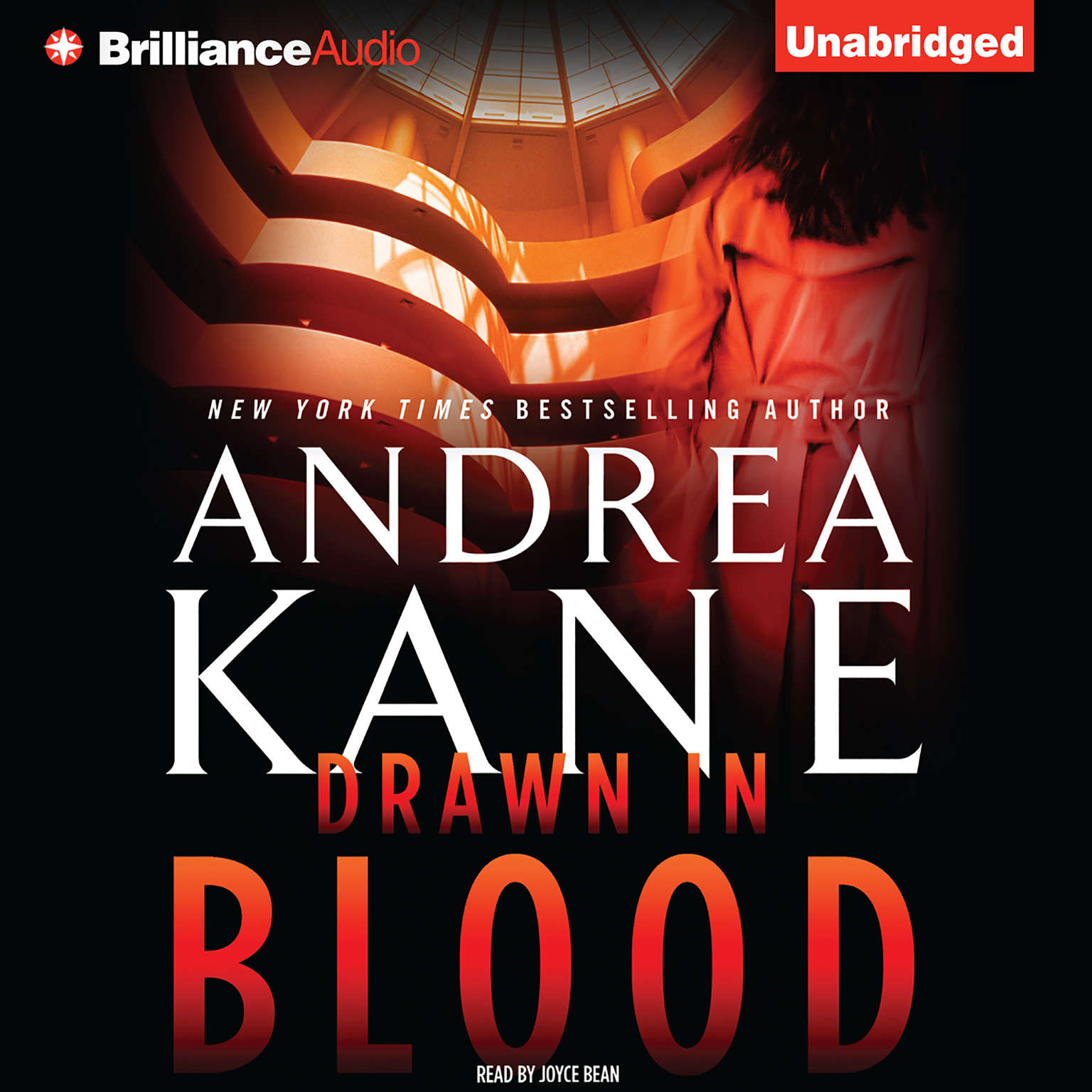 Printable Drawn in Blood Audiobook Cover Art