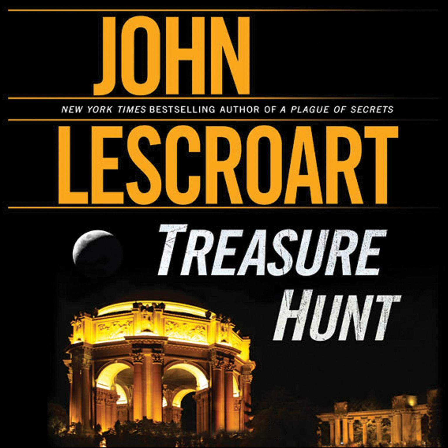 Printable Treasure Hunt Audiobook Cover Art