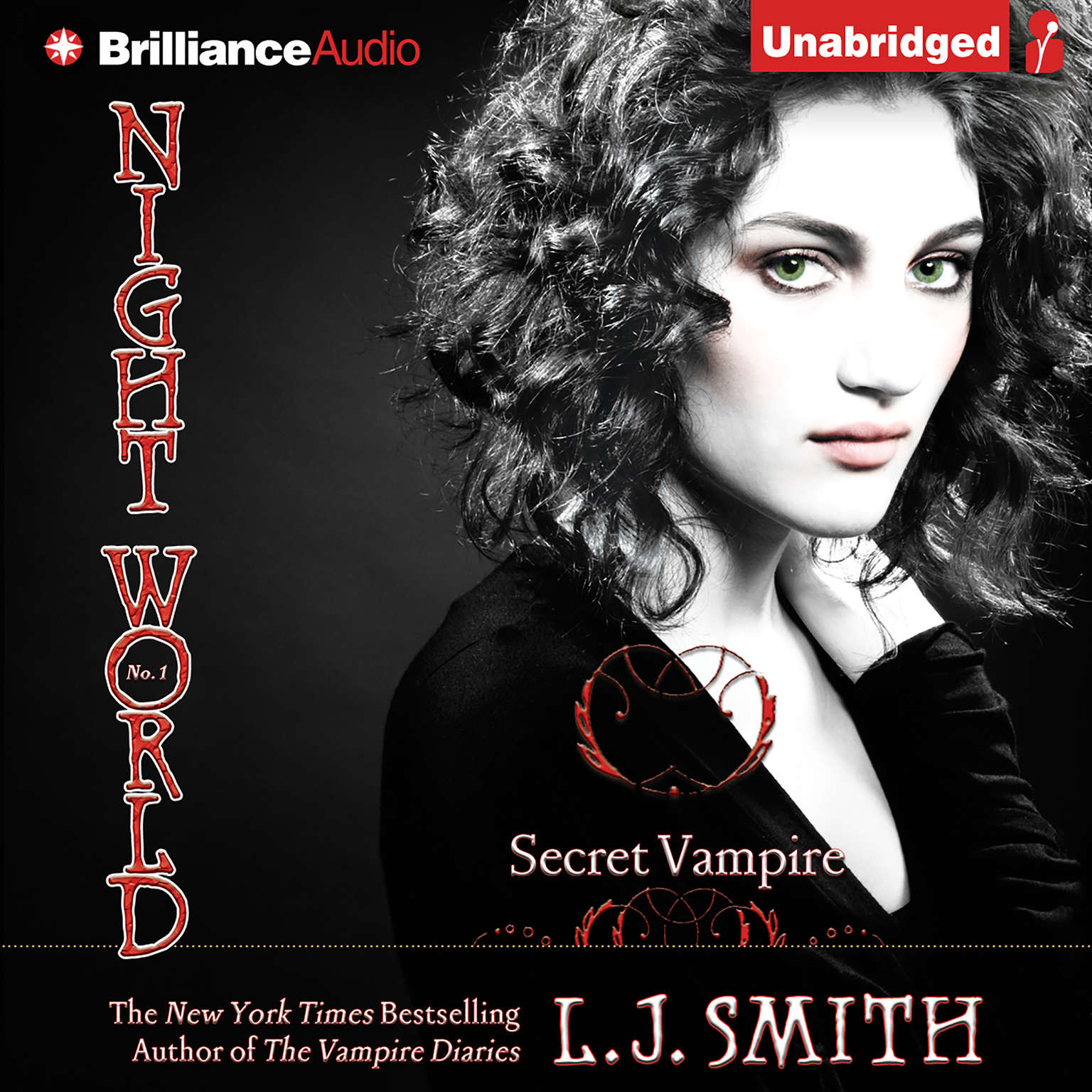 Printable Secret Vampire Audiobook Cover Art