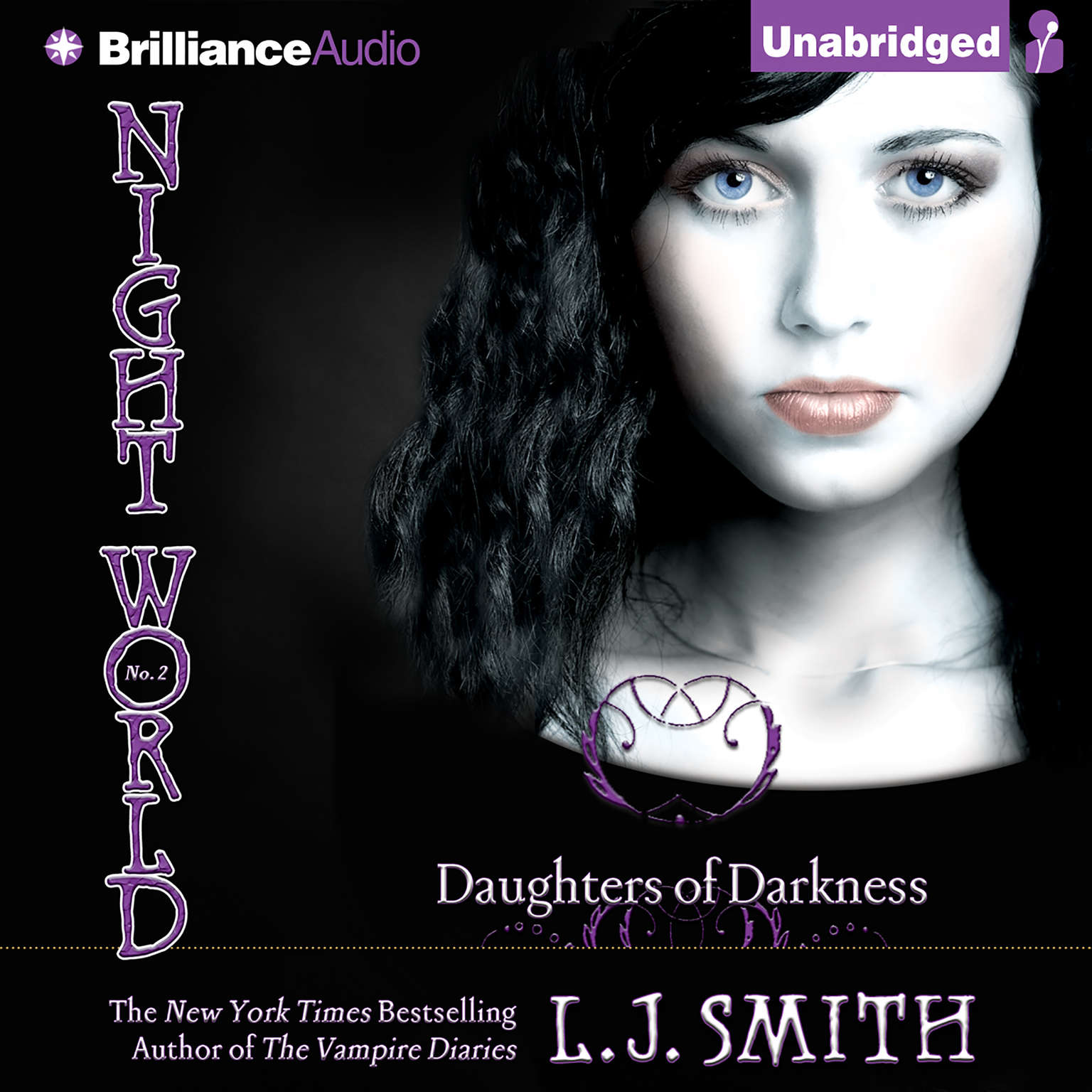 Printable Daughters of Darkness Audiobook Cover Art