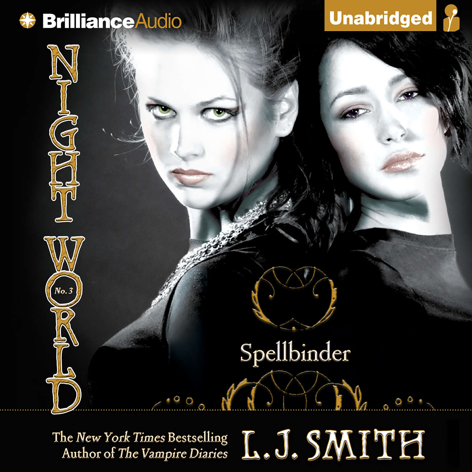 Printable Spellbinder Audiobook Cover Art