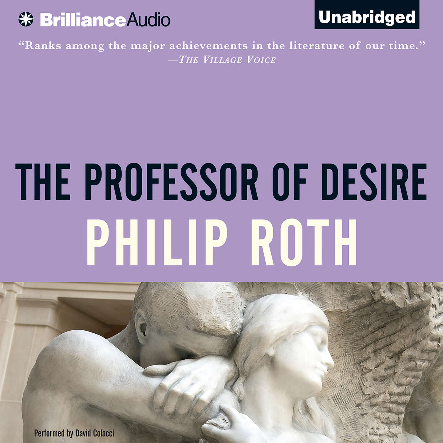 Printable The Professor of Desire Audiobook Cover Art