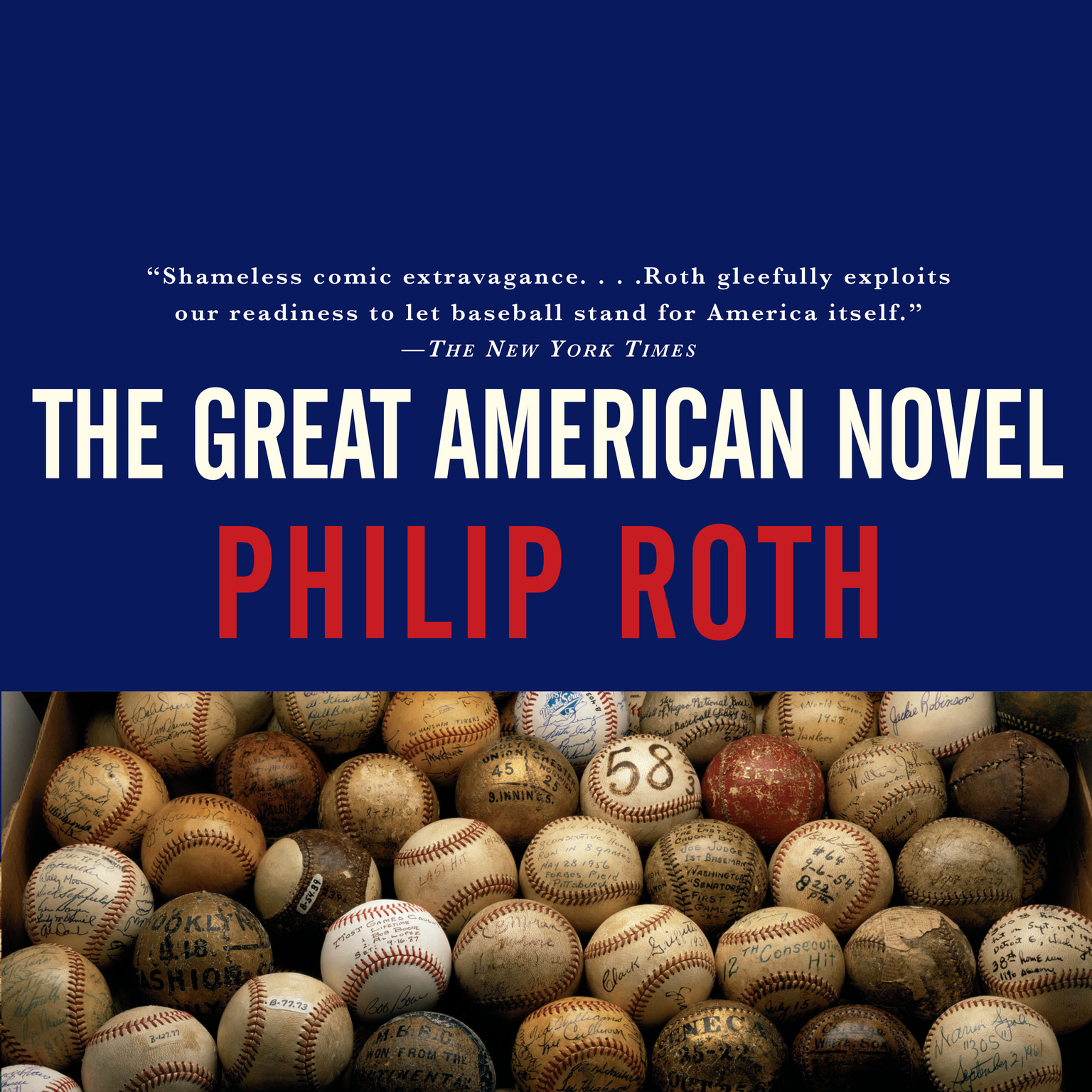 Printable The Great American Novel Audiobook Cover Art