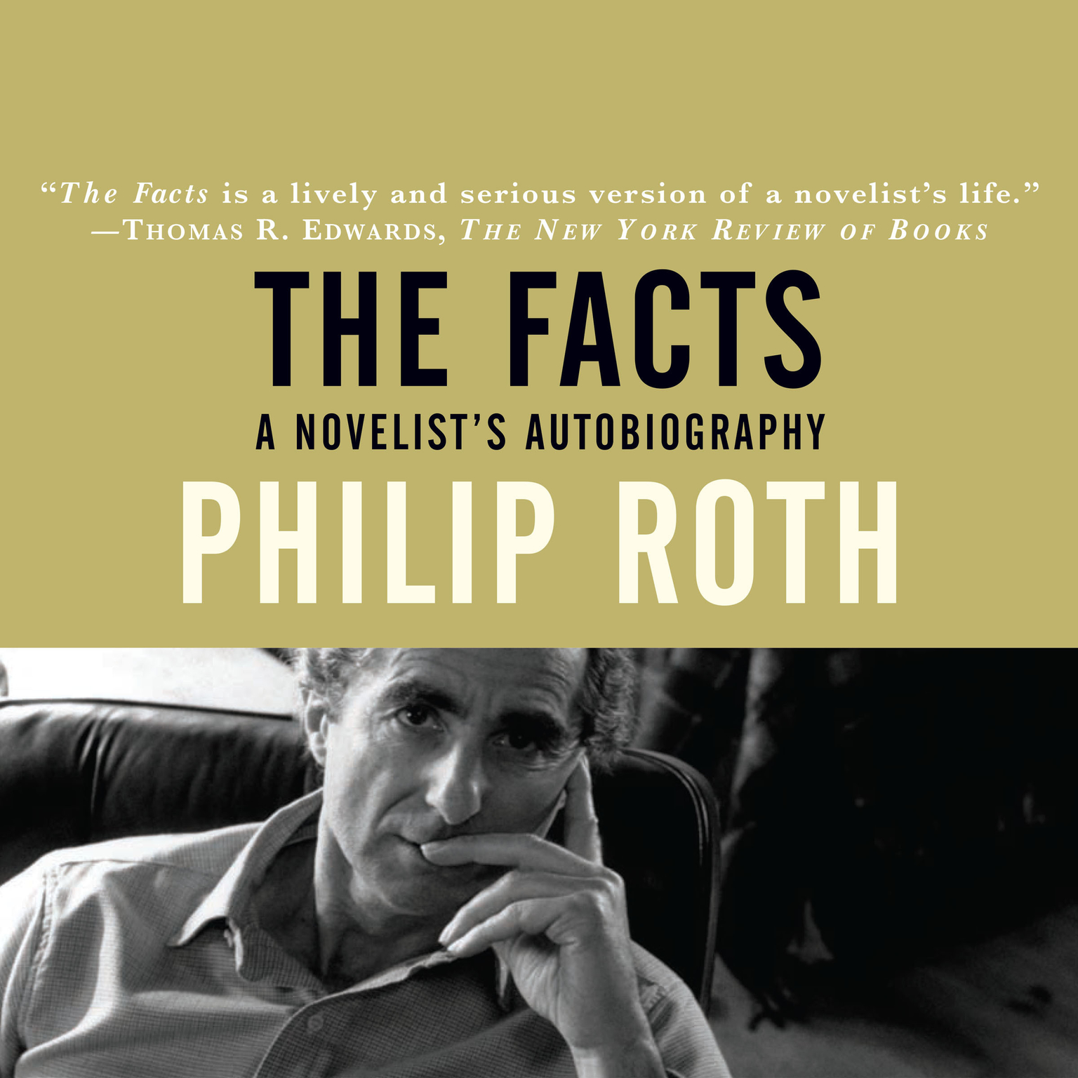 Printable The Facts: A Novelist's Autobiography Audiobook Cover Art