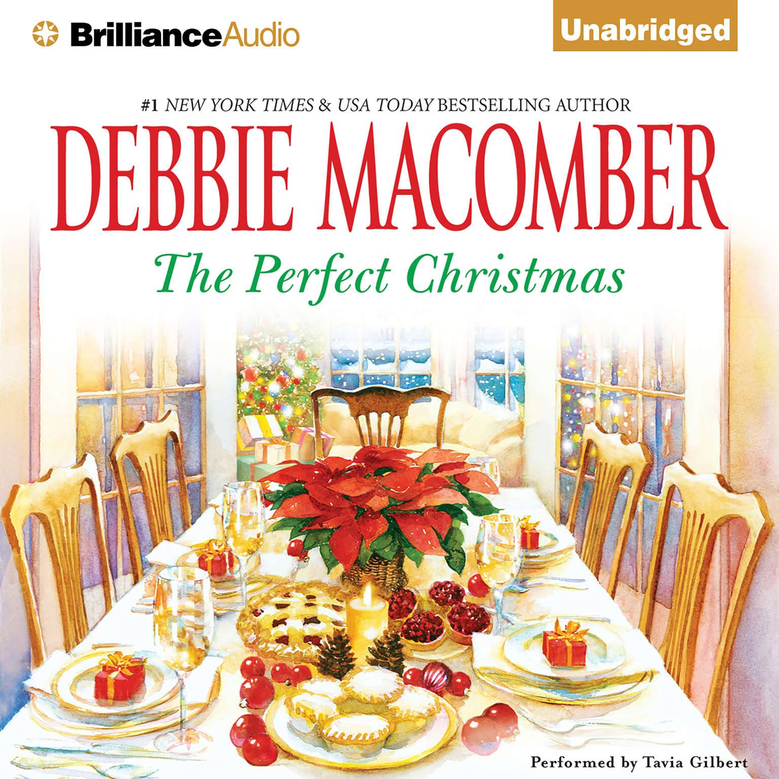 Printable The Perfect Christmas Audiobook Cover Art