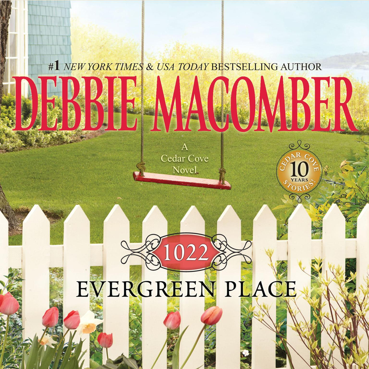 Printable 1022 Evergreen Place Audiobook Cover Art