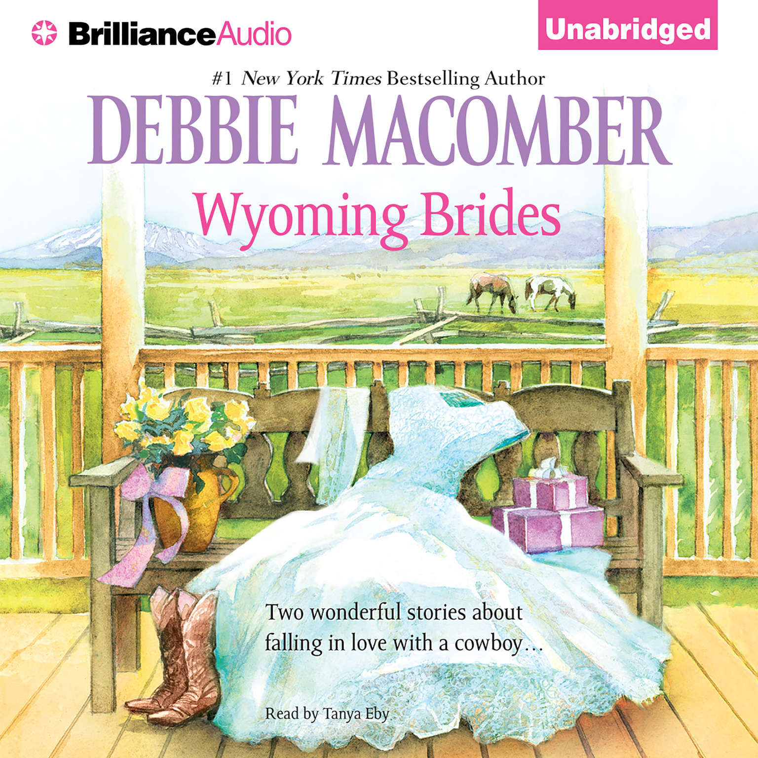 Printable Wyoming Brides Audiobook Cover Art