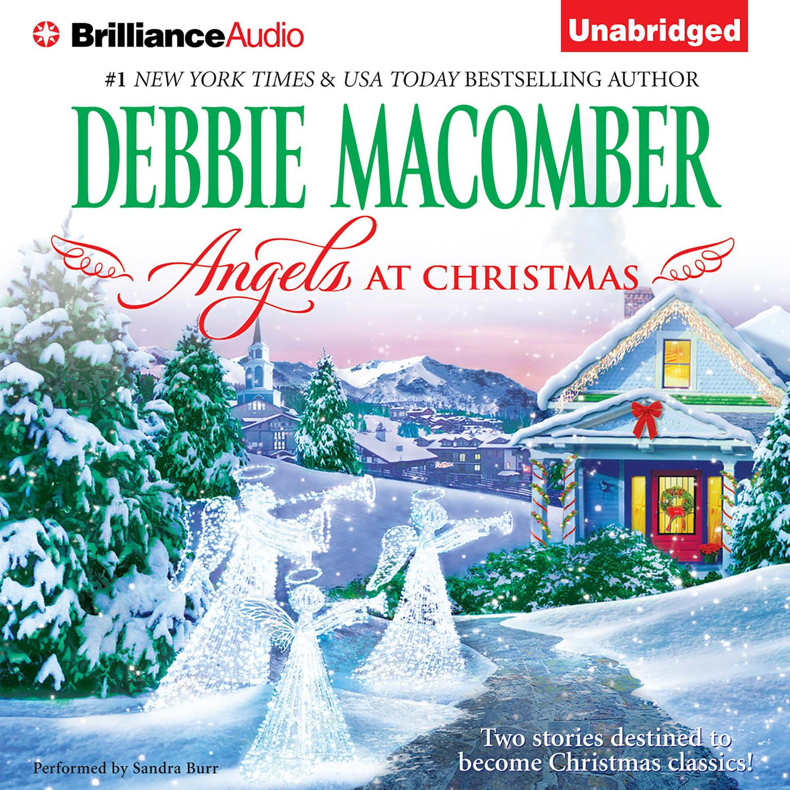 Printable Angels at Christmas Audiobook Cover Art