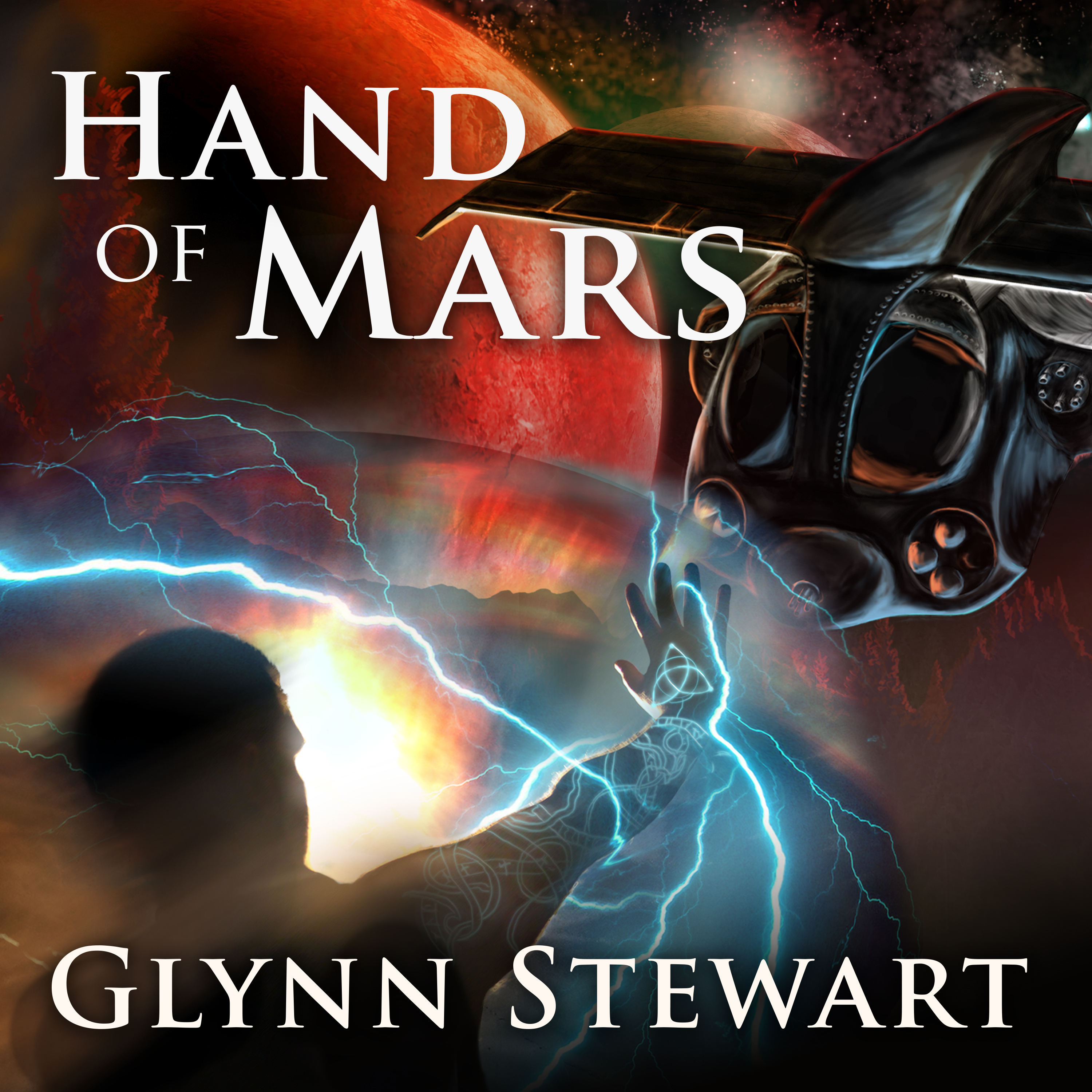 Printable Hand of Mars Audiobook Cover Art