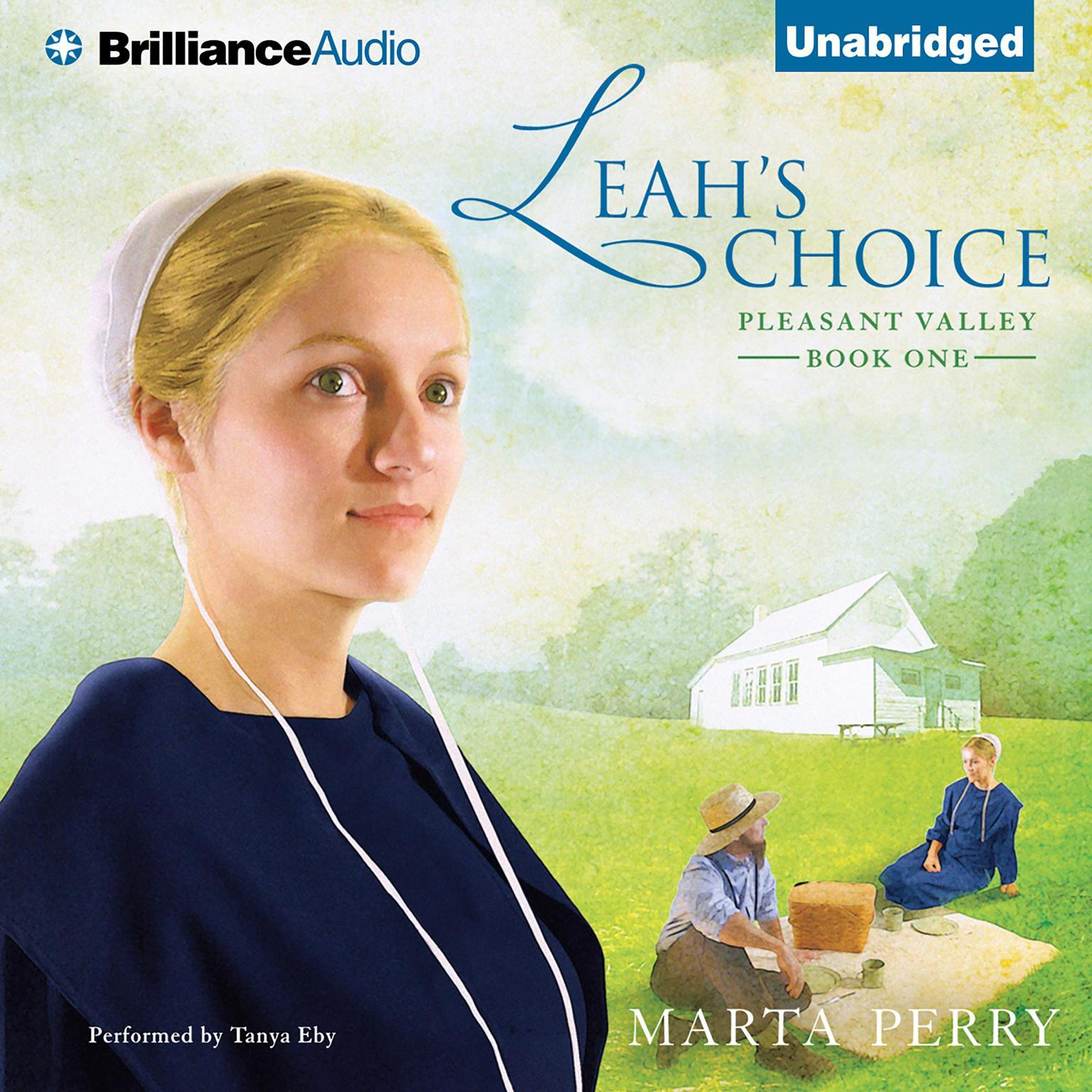 Printable Leah's Choice: Pleasant Valley Book One Audiobook Cover Art