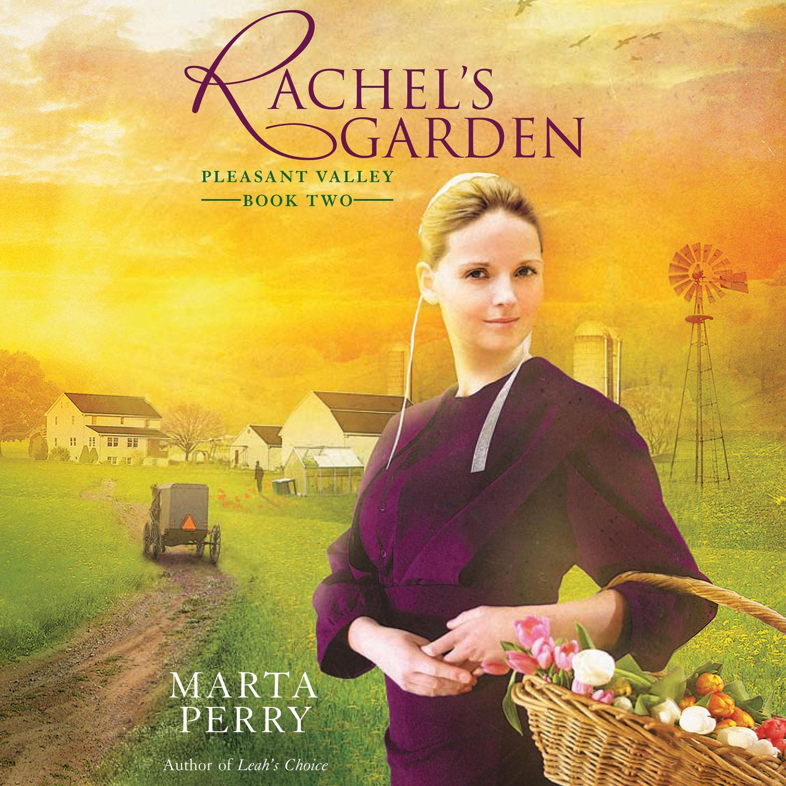 Printable Rachel's Garden Audiobook Cover Art