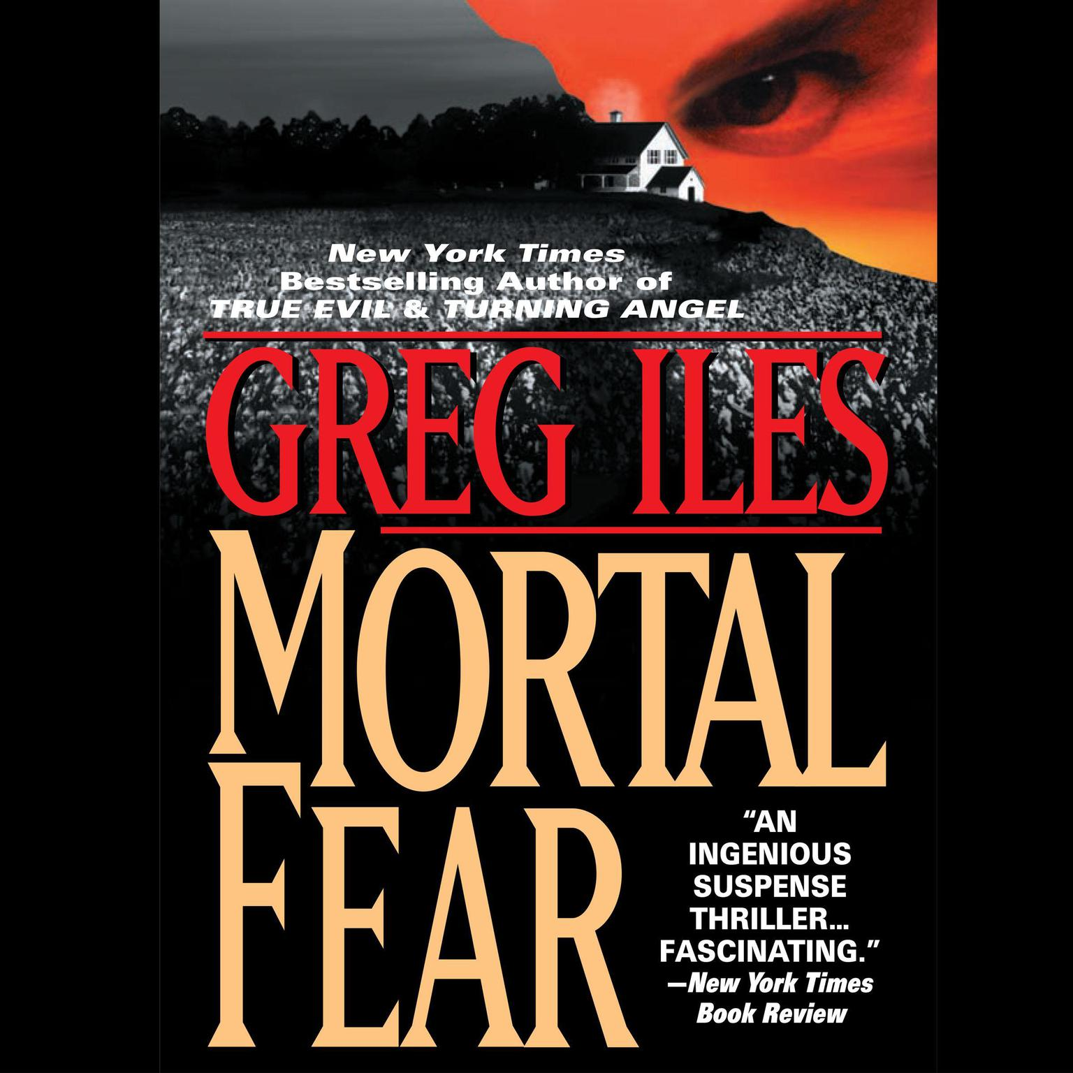Printable Mortal Fear Audiobook Cover Art
