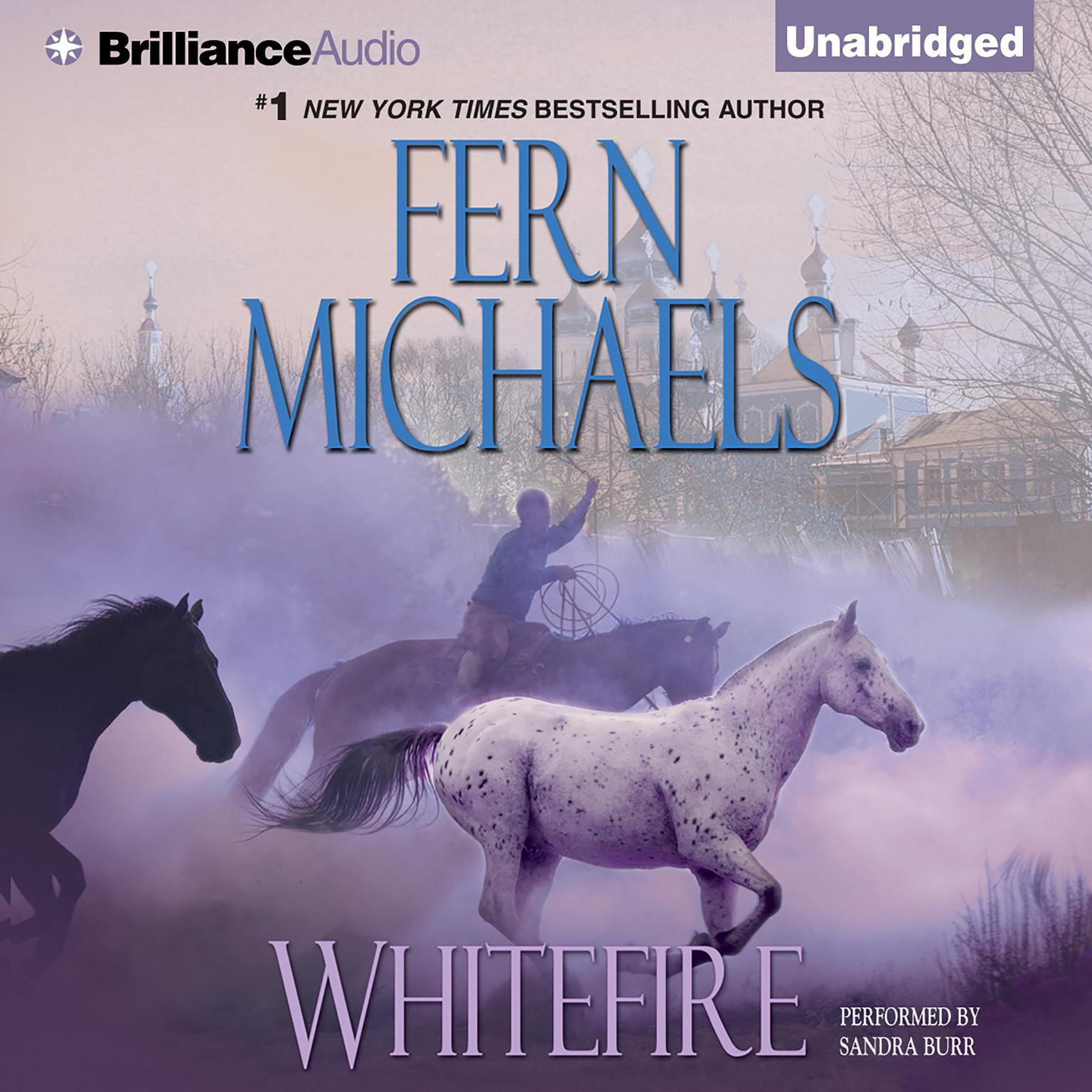 Printable Whitefire Audiobook Cover Art