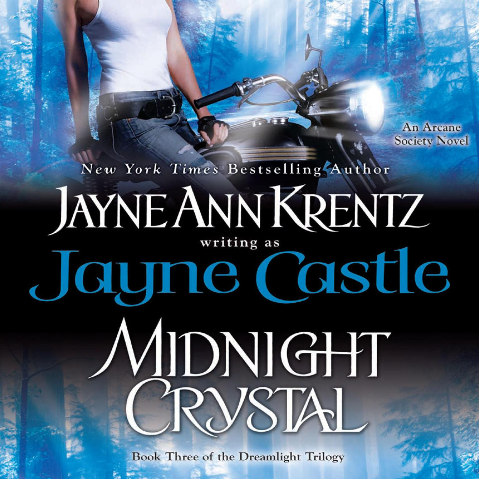 Printable Midnight Crystal: Book III of the Dreamlight Trilogy Audiobook Cover Art