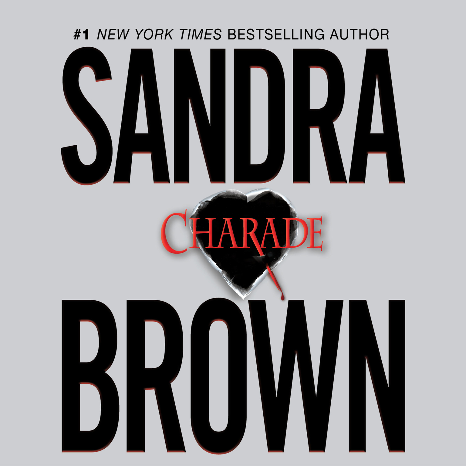Printable Charade Audiobook Cover Art