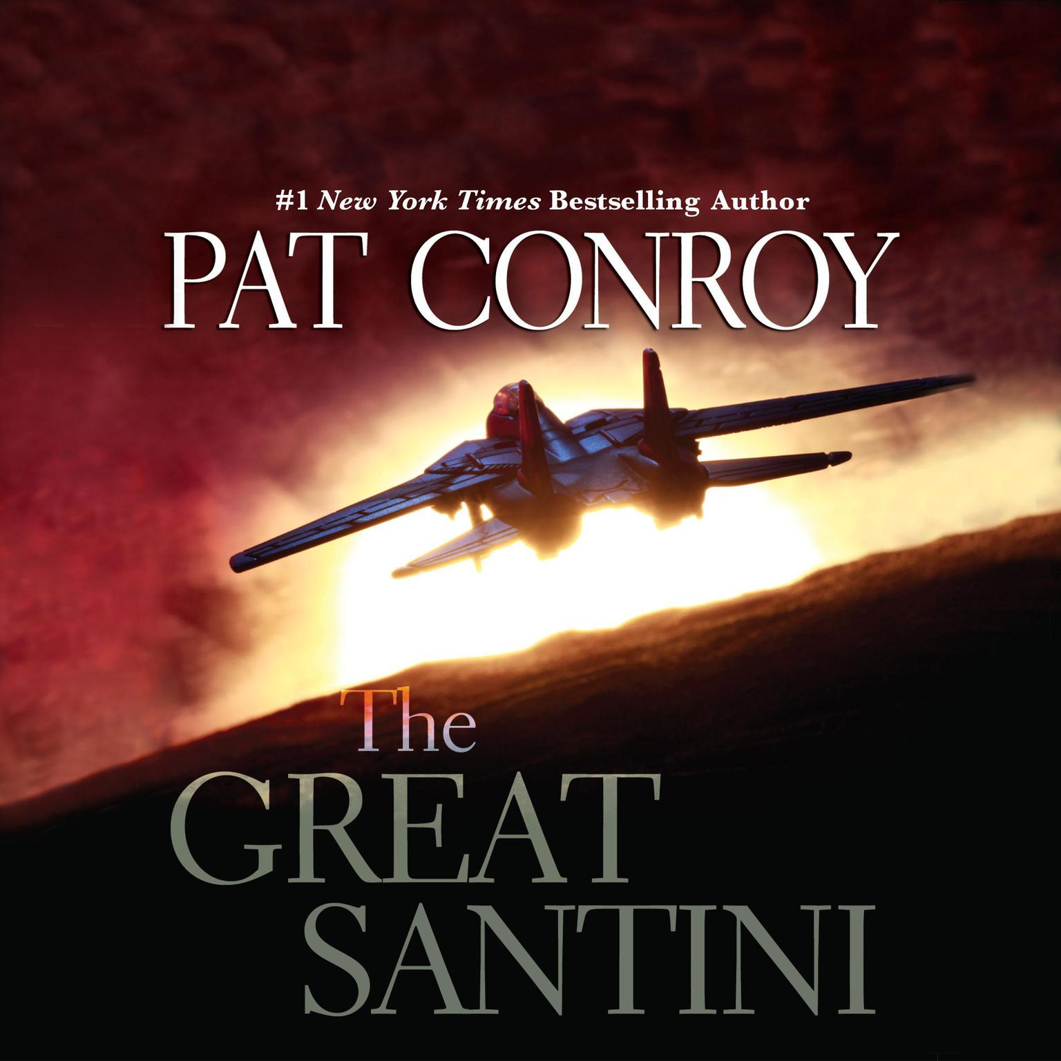 Printable The Great Santini Audiobook Cover Art