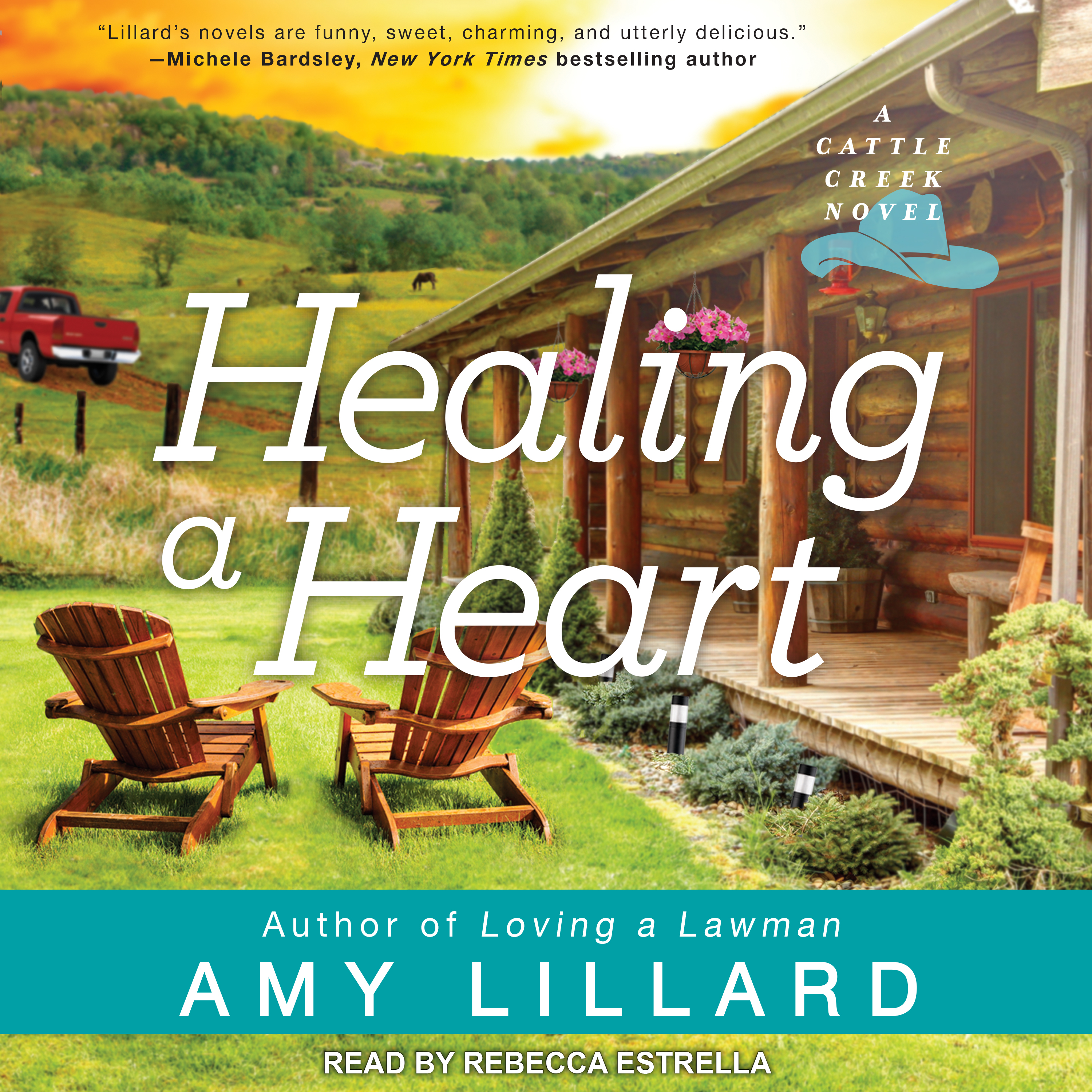 Printable Healing a Heart Audiobook Cover Art