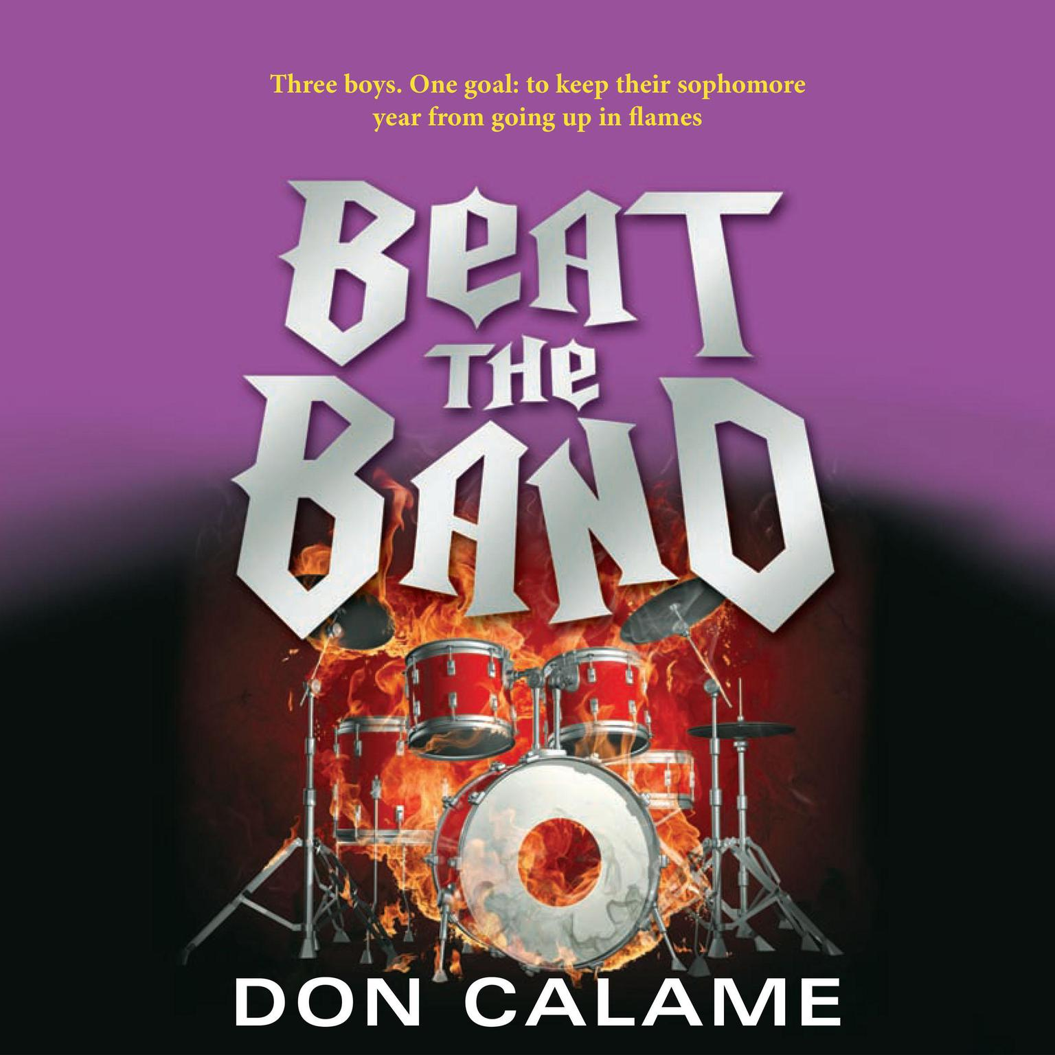 Printable Beat the Band Audiobook Cover Art