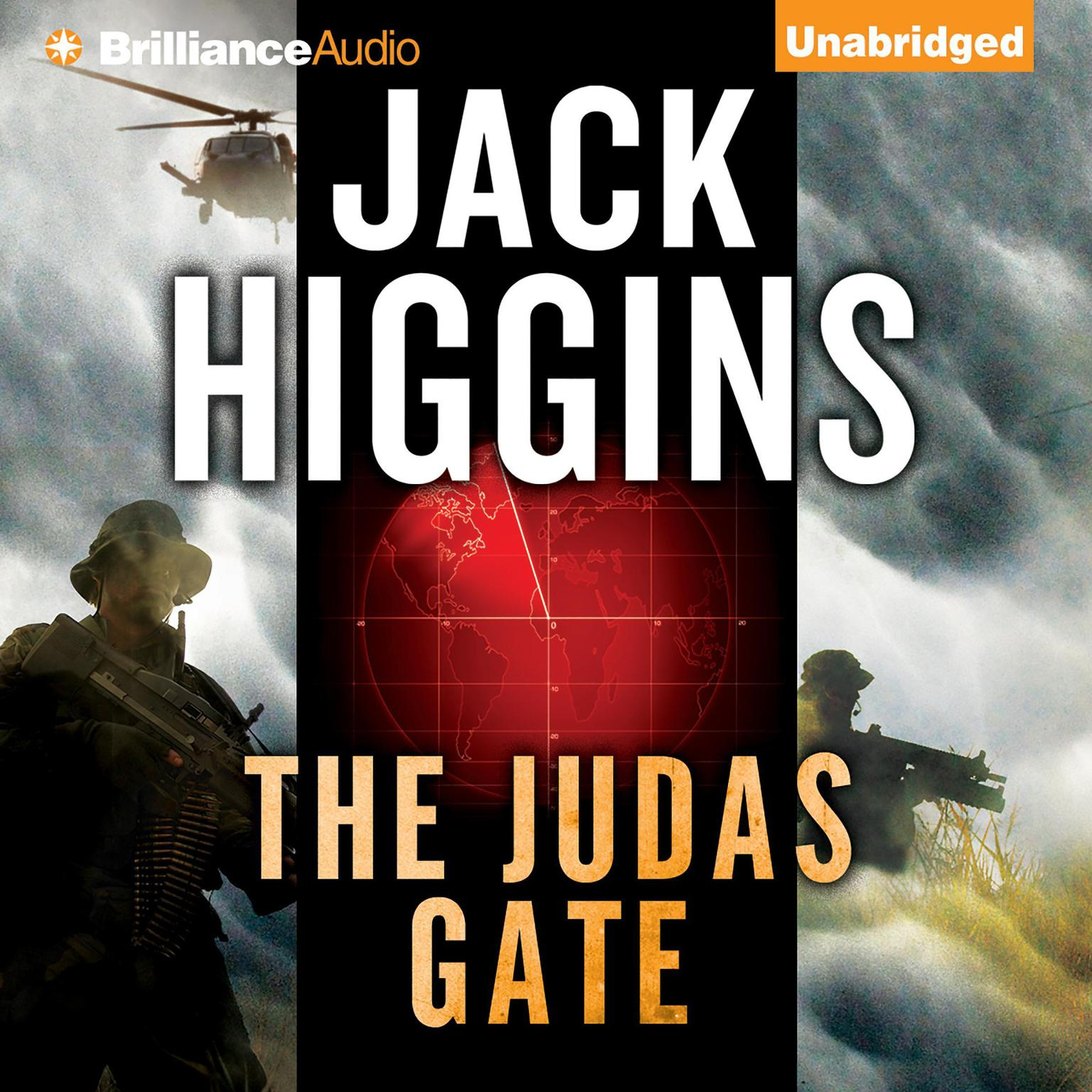 Printable The Judas Gate Audiobook Cover Art