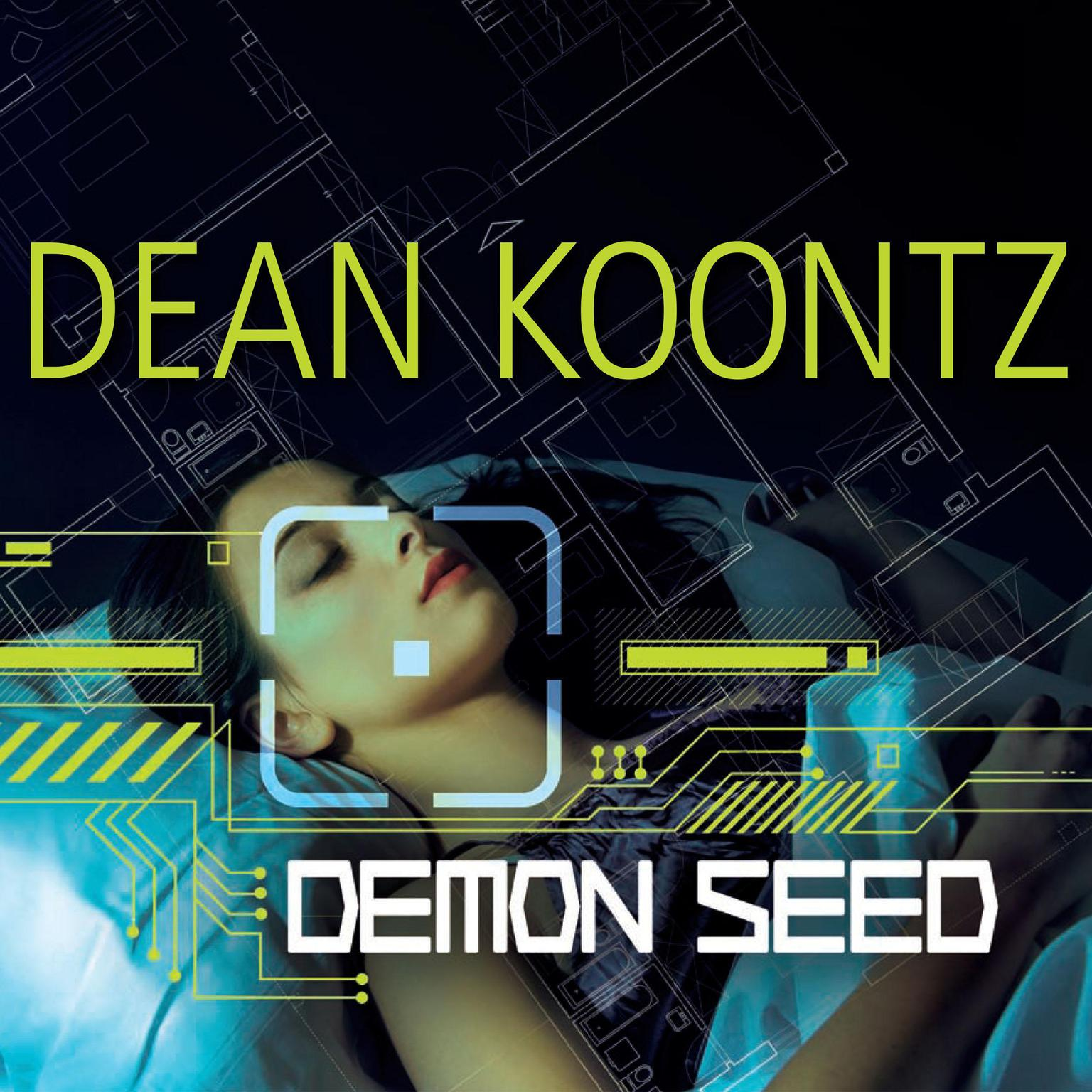 Printable Demon Seed Audiobook Cover Art