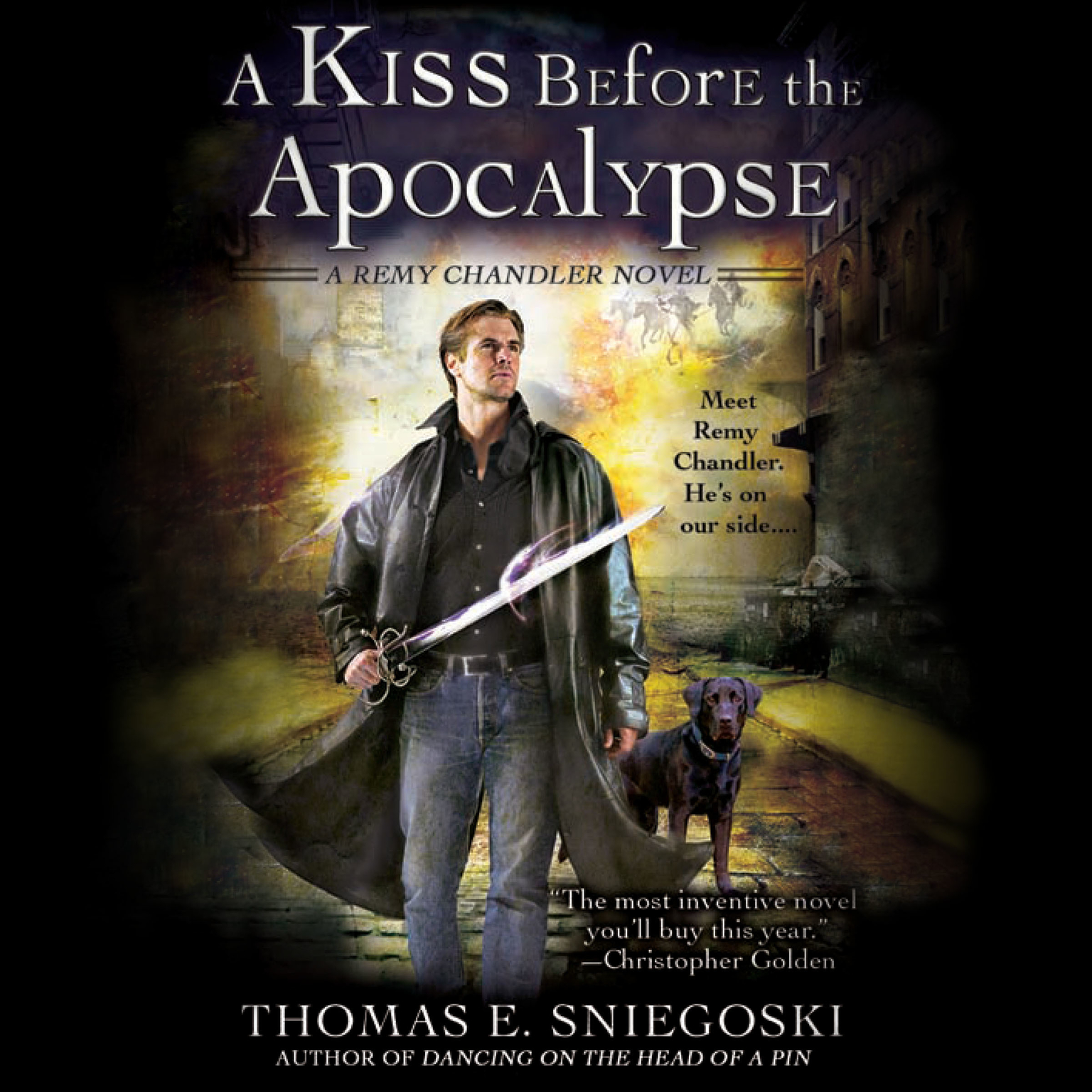 Printable A Kiss Before the Apocalypse Audiobook Cover Art