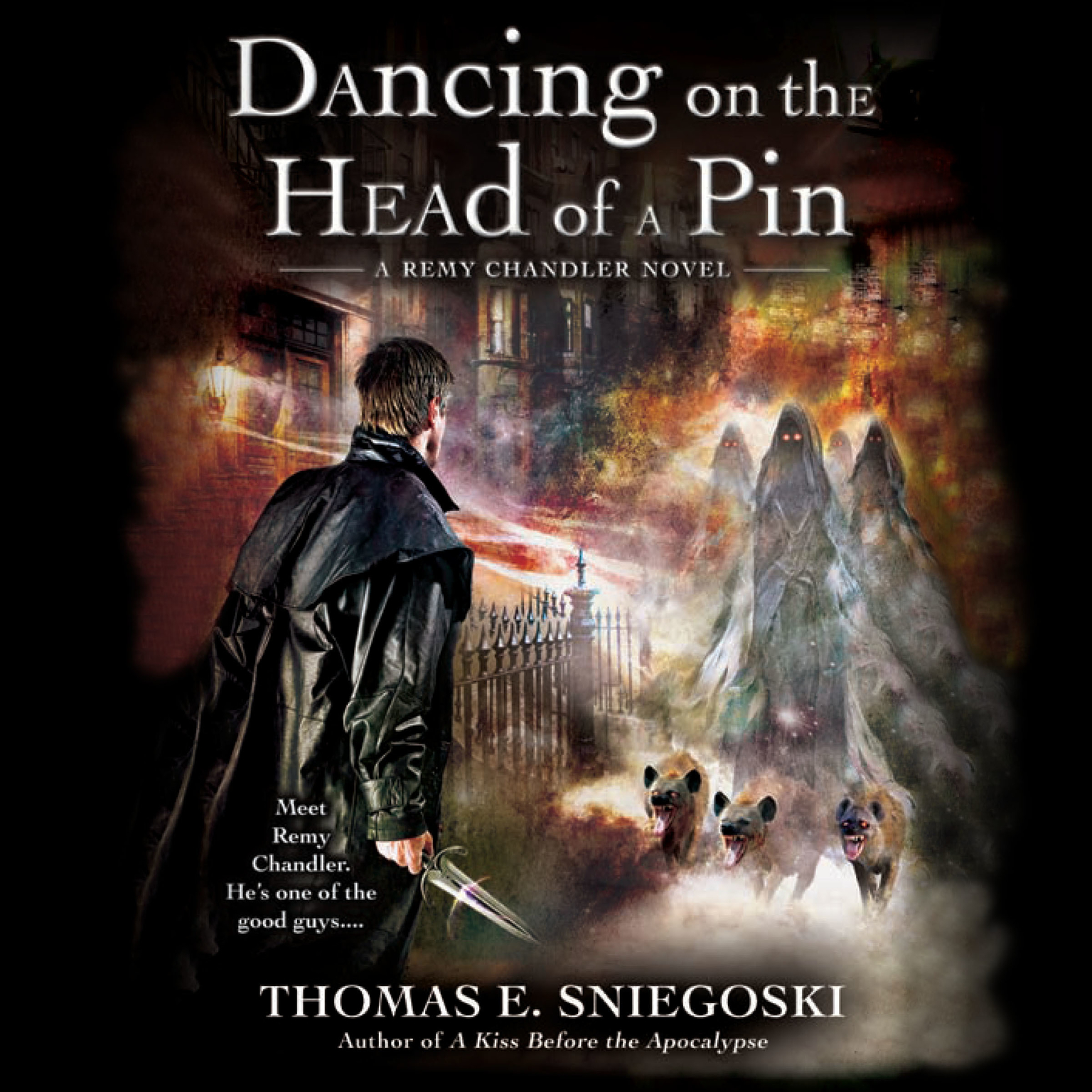 Printable Dancing on the Head of a Pin: A Remy Chandler Novel Audiobook Cover Art