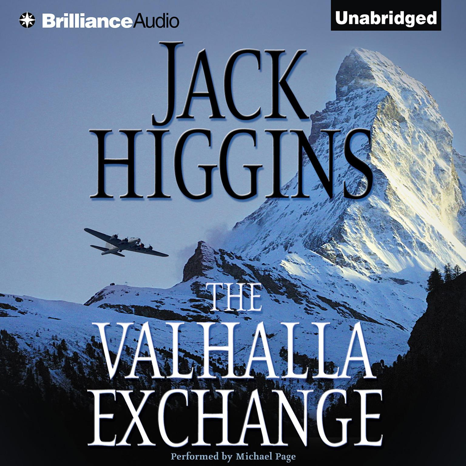 Printable The Valhalla Exchange Audiobook Cover Art