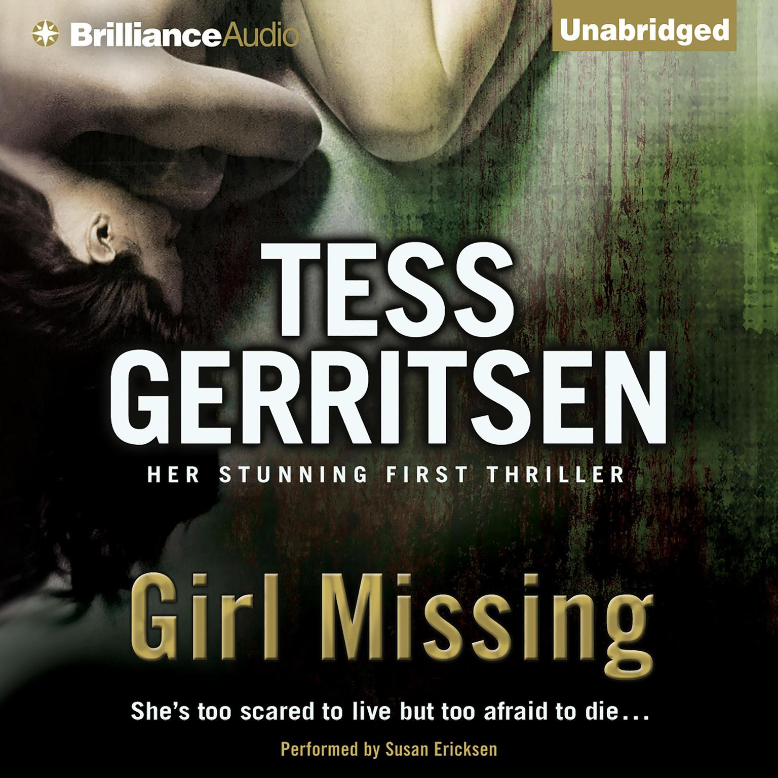 Printable Girl Missing Audiobook Cover Art
