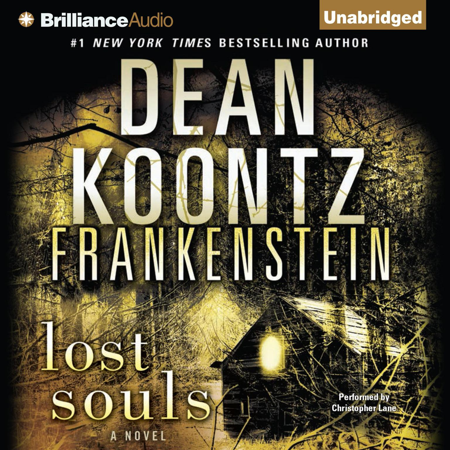 Printable Frankenstein: Lost Souls Audiobook Cover Art