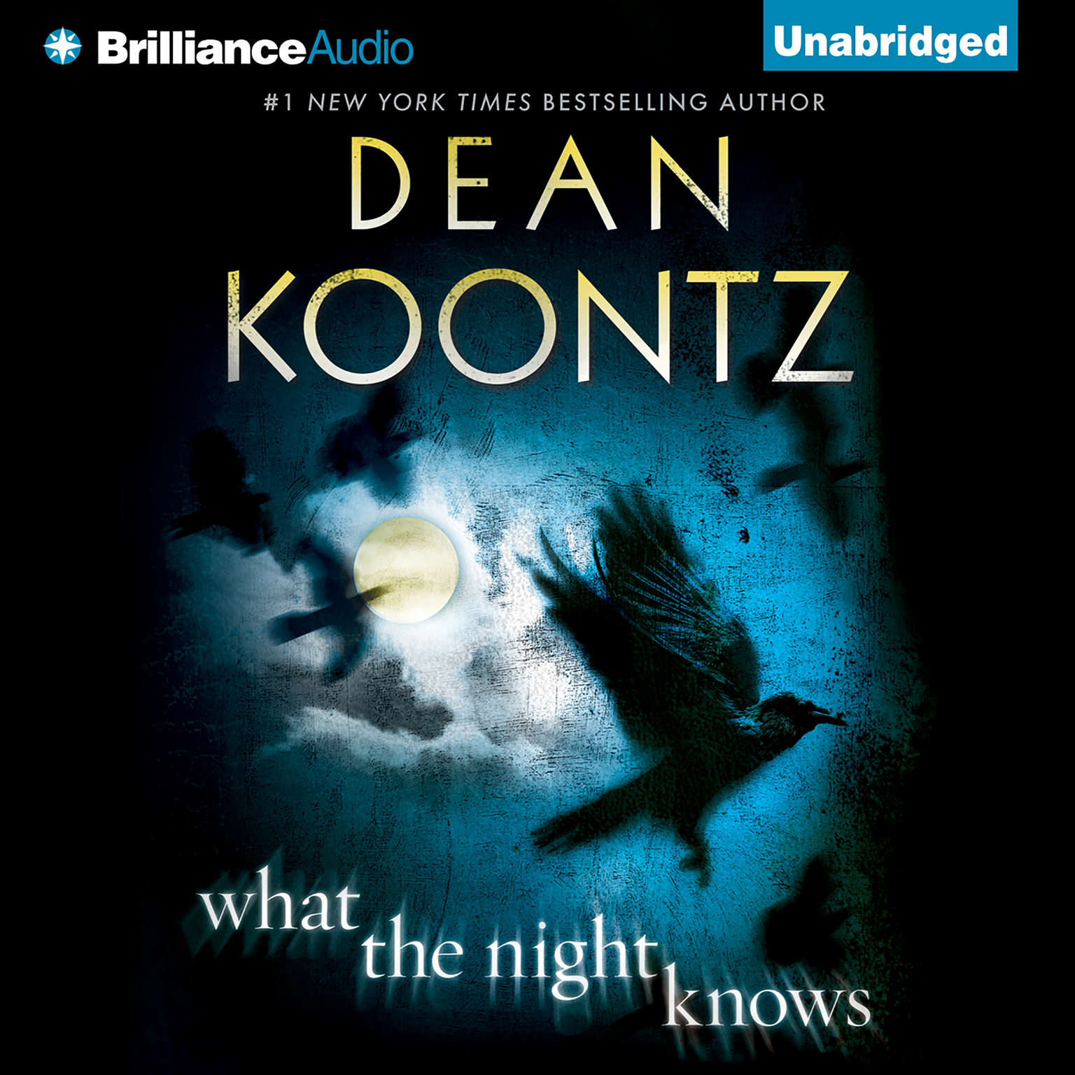 Printable What the Night Knows Audiobook Cover Art