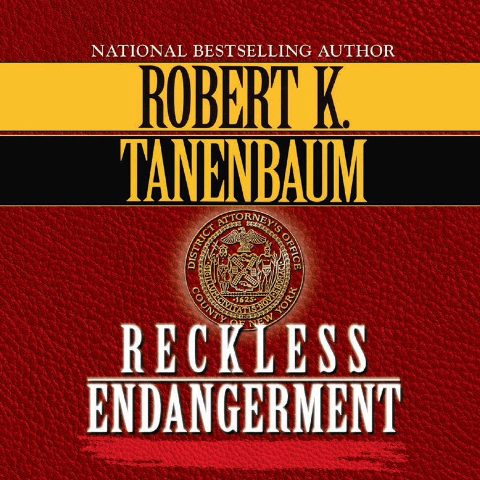 Printable Reckless Endangerment Audiobook Cover Art