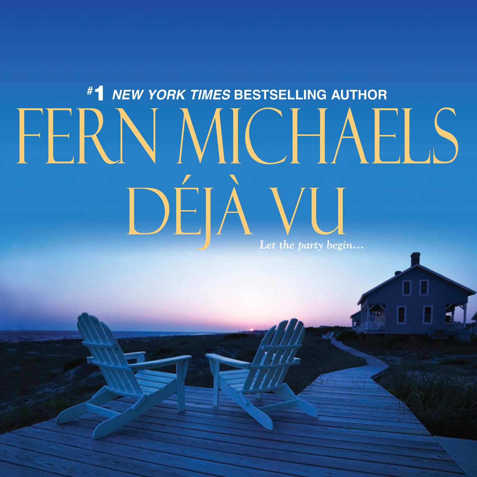 Printable Deja Vu Audiobook Cover Art