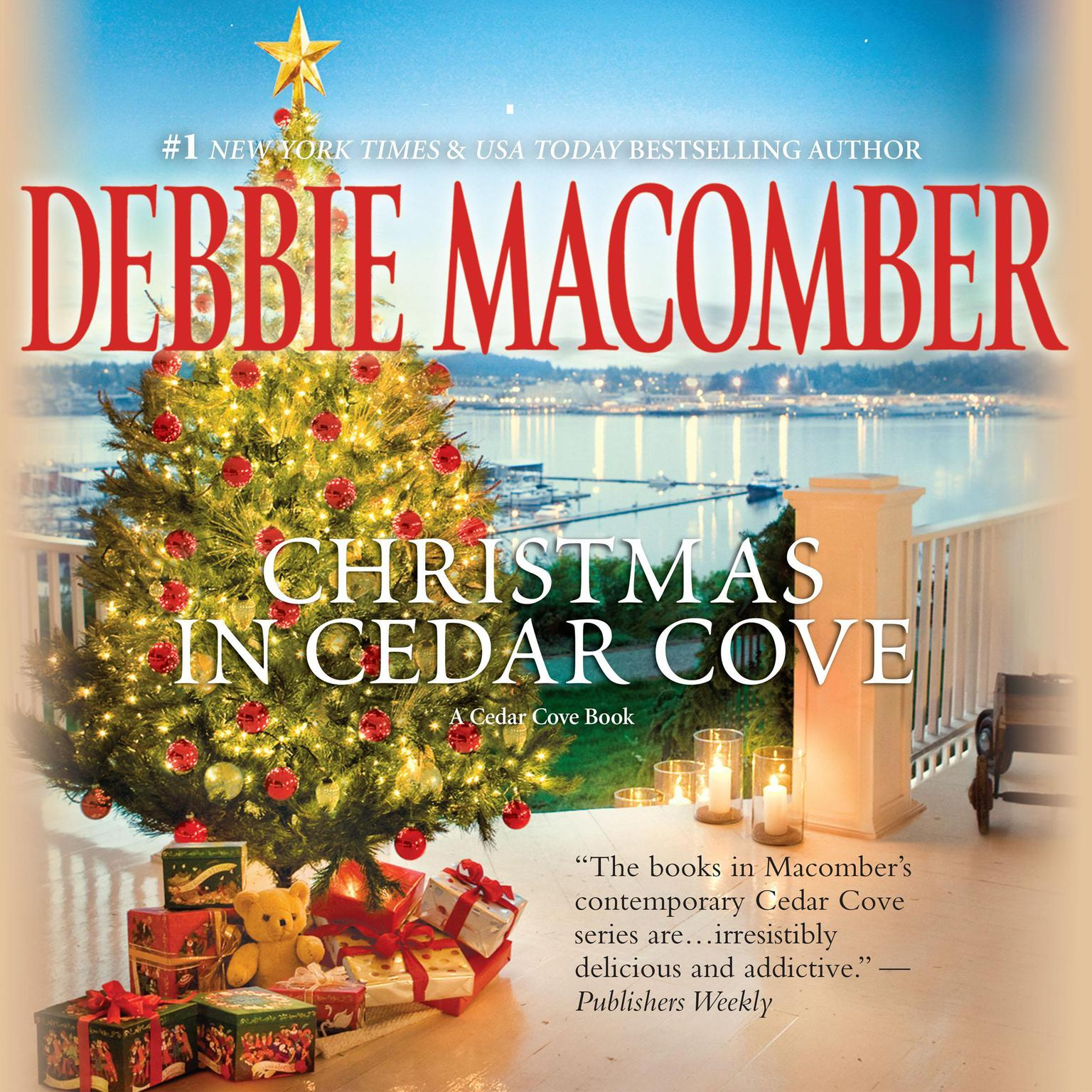 Printable Christmas in Cedar Cove: 5-B Poppy Lane, A Cedar Cove Christmas Audiobook Cover Art