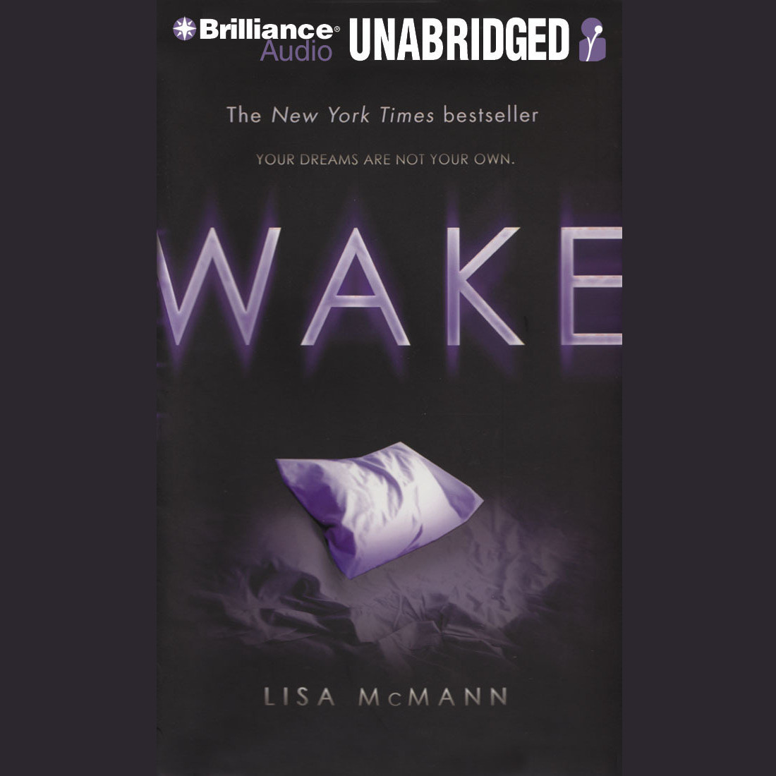 Printable Wake Audiobook Cover Art