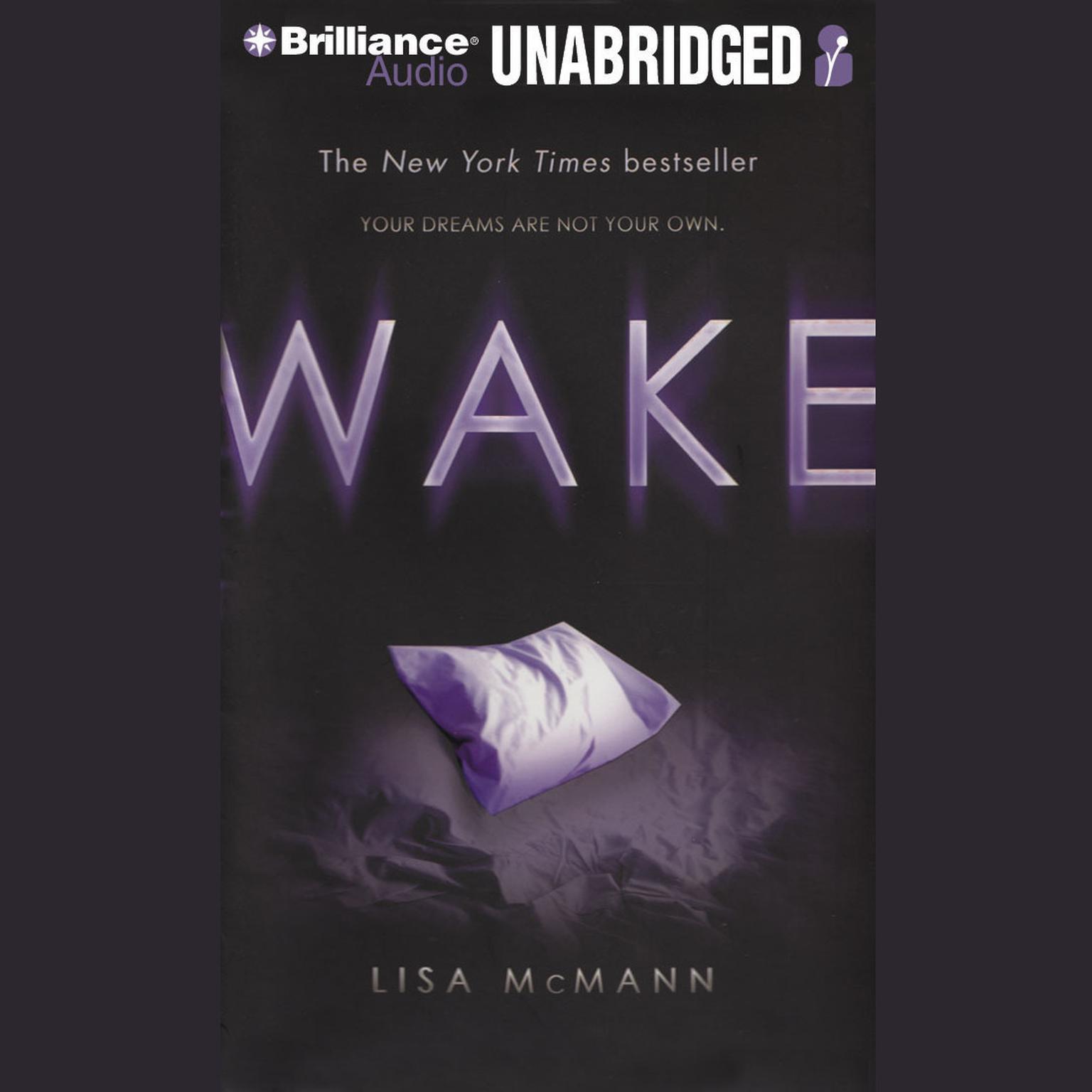 Printable Wake Audiobook Cover Art