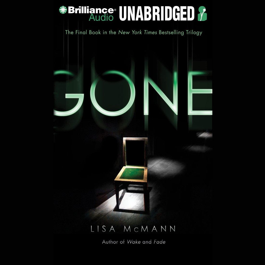 Printable Gone Audiobook Cover Art