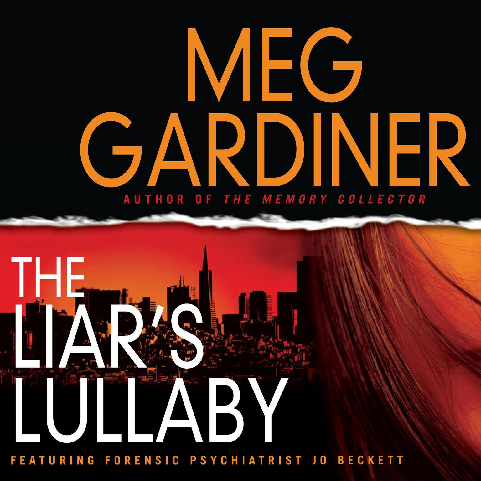 Printable The Liar's Lullaby Audiobook Cover Art