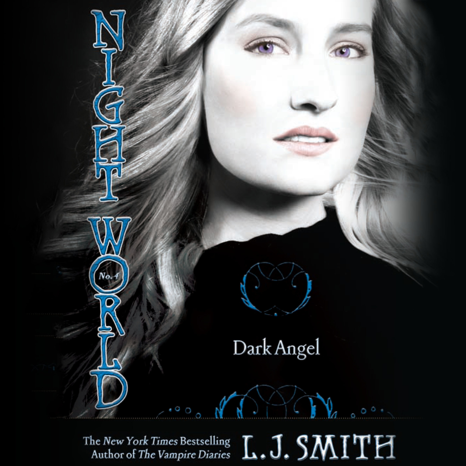 Printable Dark Angel Audiobook Cover Art