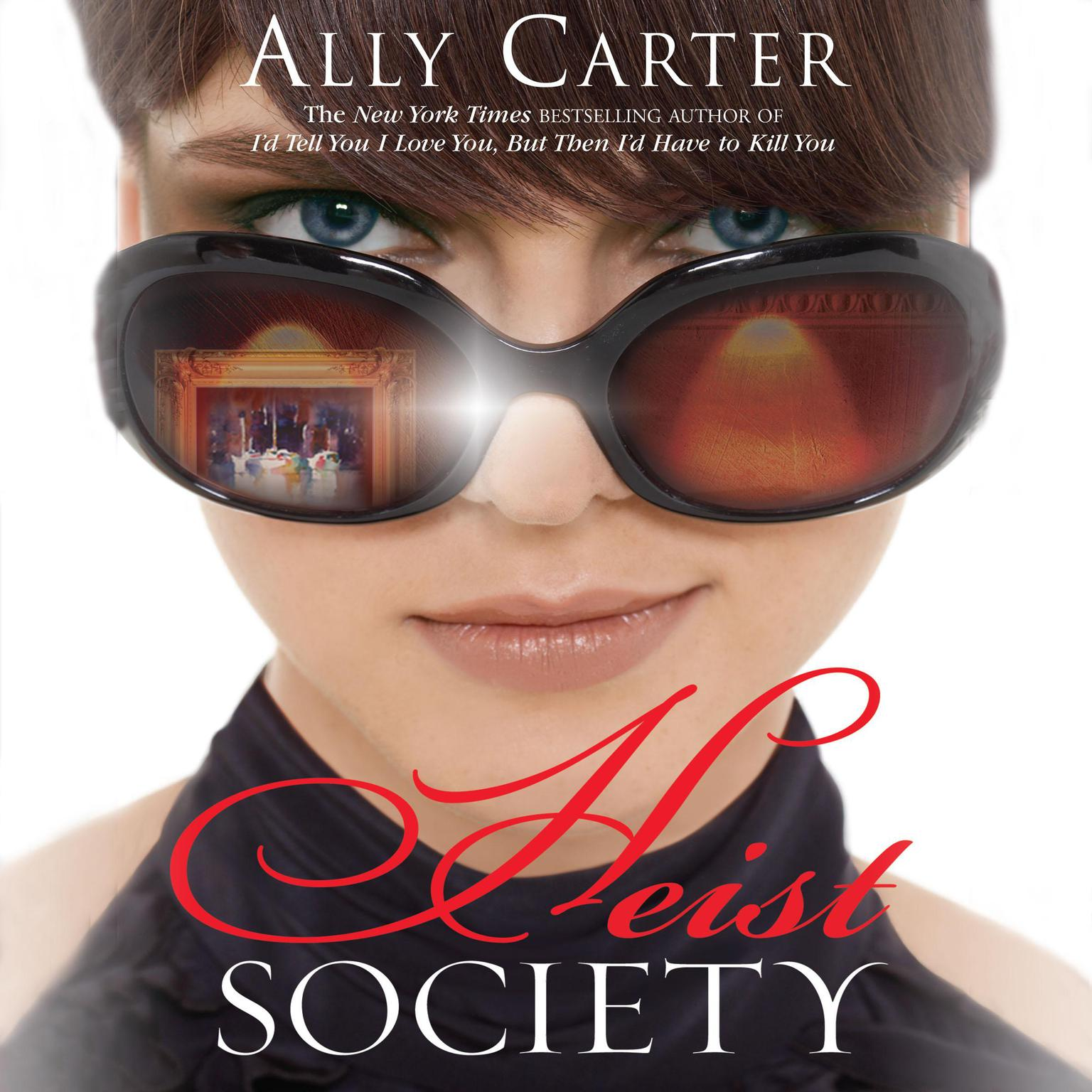 Printable Heist Society Audiobook Cover Art