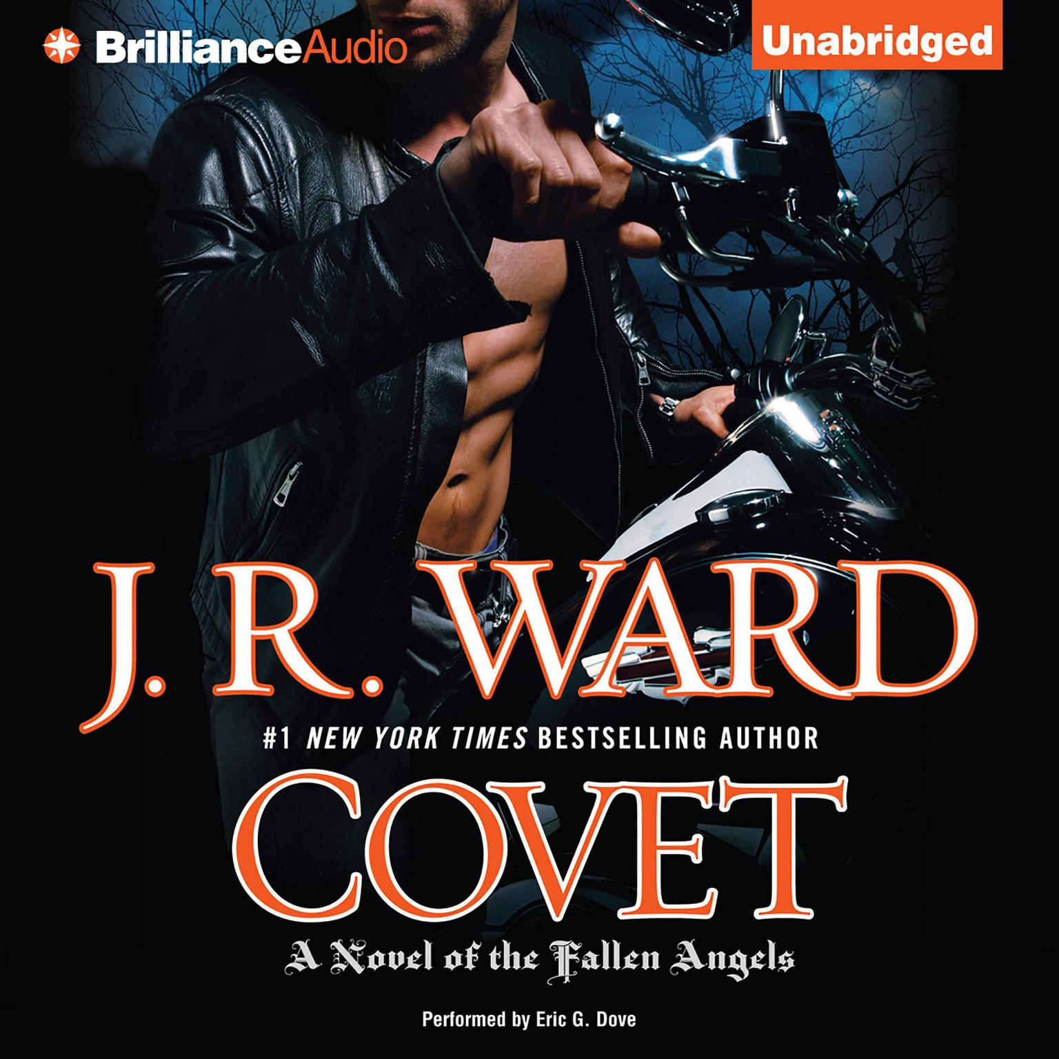 Printable Covet: A Novel of the Fallen Angels Audiobook Cover Art