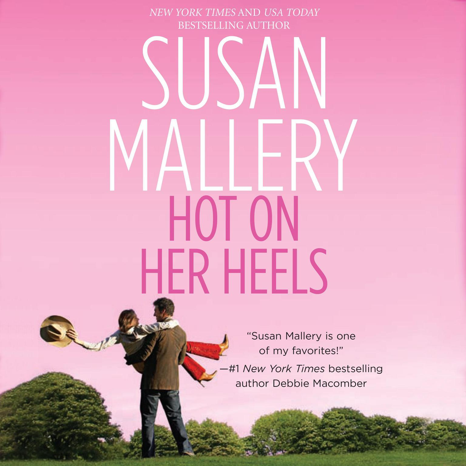 Printable Hot on Her Heels Audiobook Cover Art