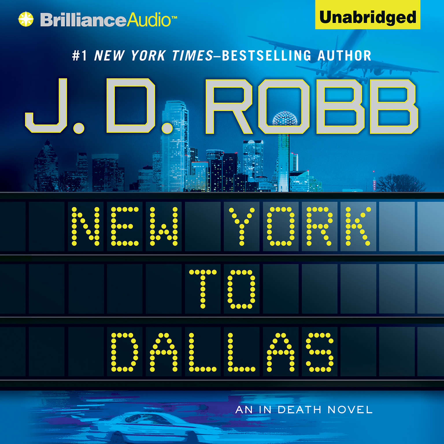 Printable New York to Dallas Audiobook Cover Art